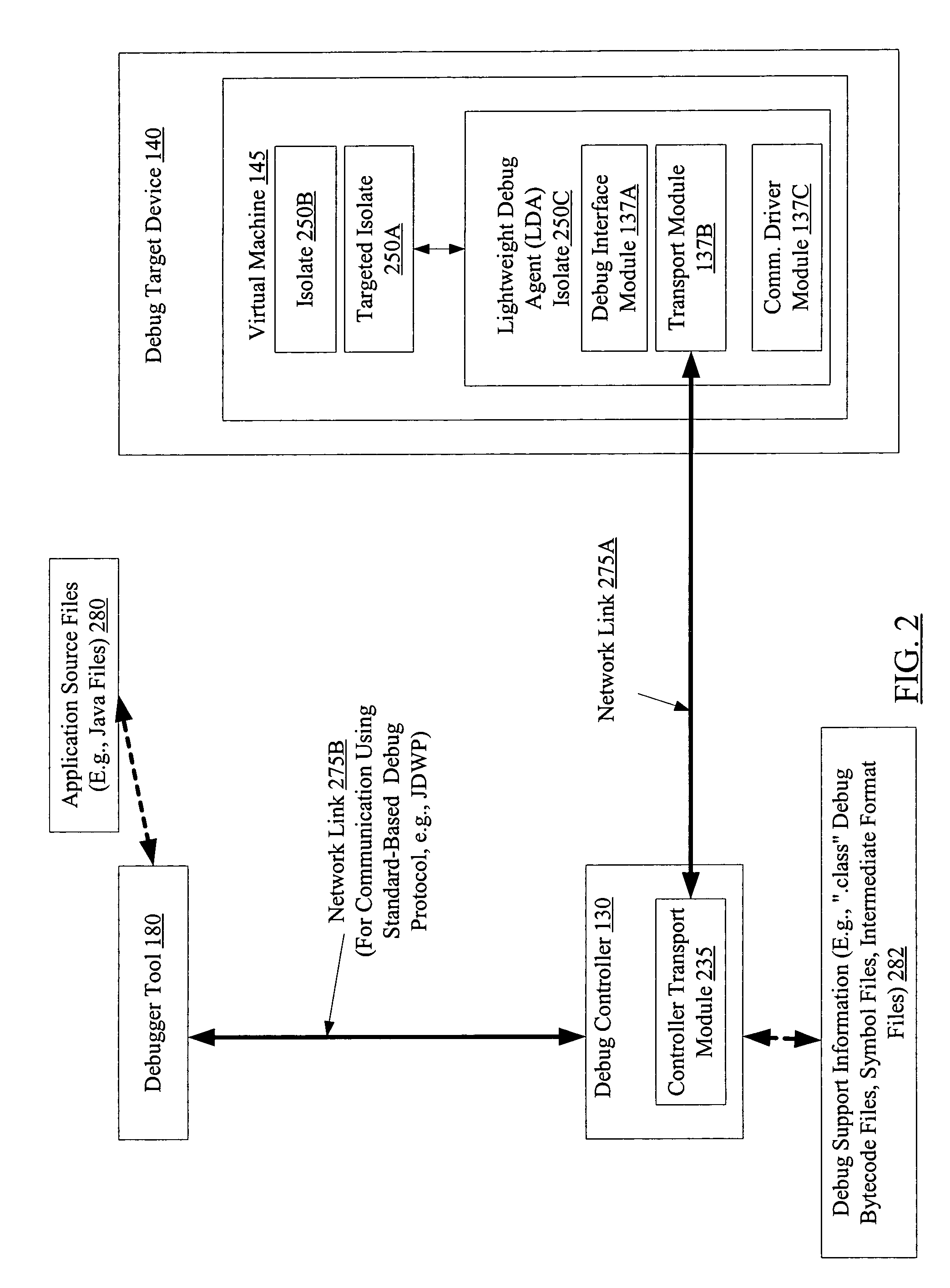 Patent US7669186 - Debugging applications at resource constrained ...