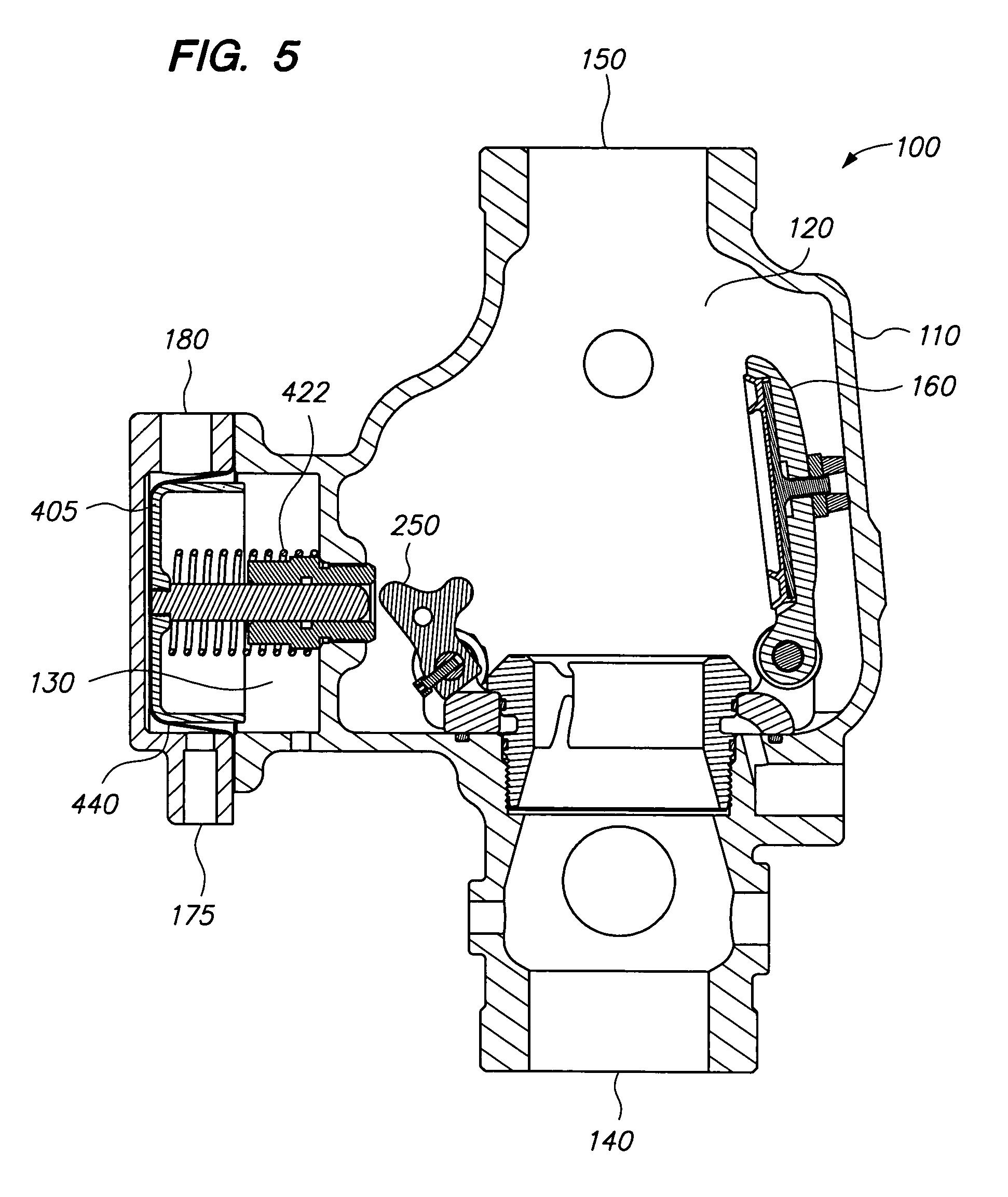 dry sprinkler system components