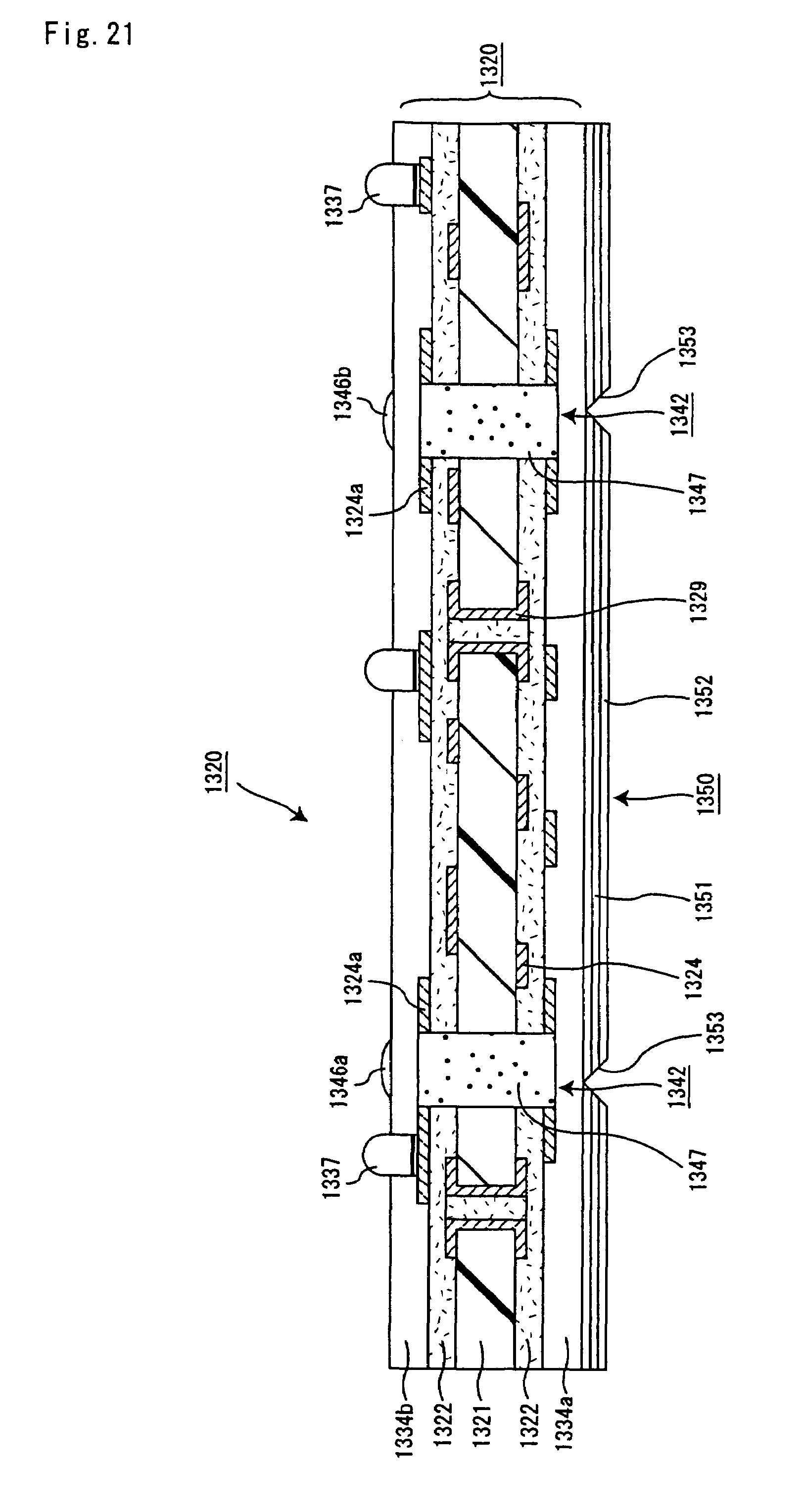 patent us7674987 - multilayer printed circuit board