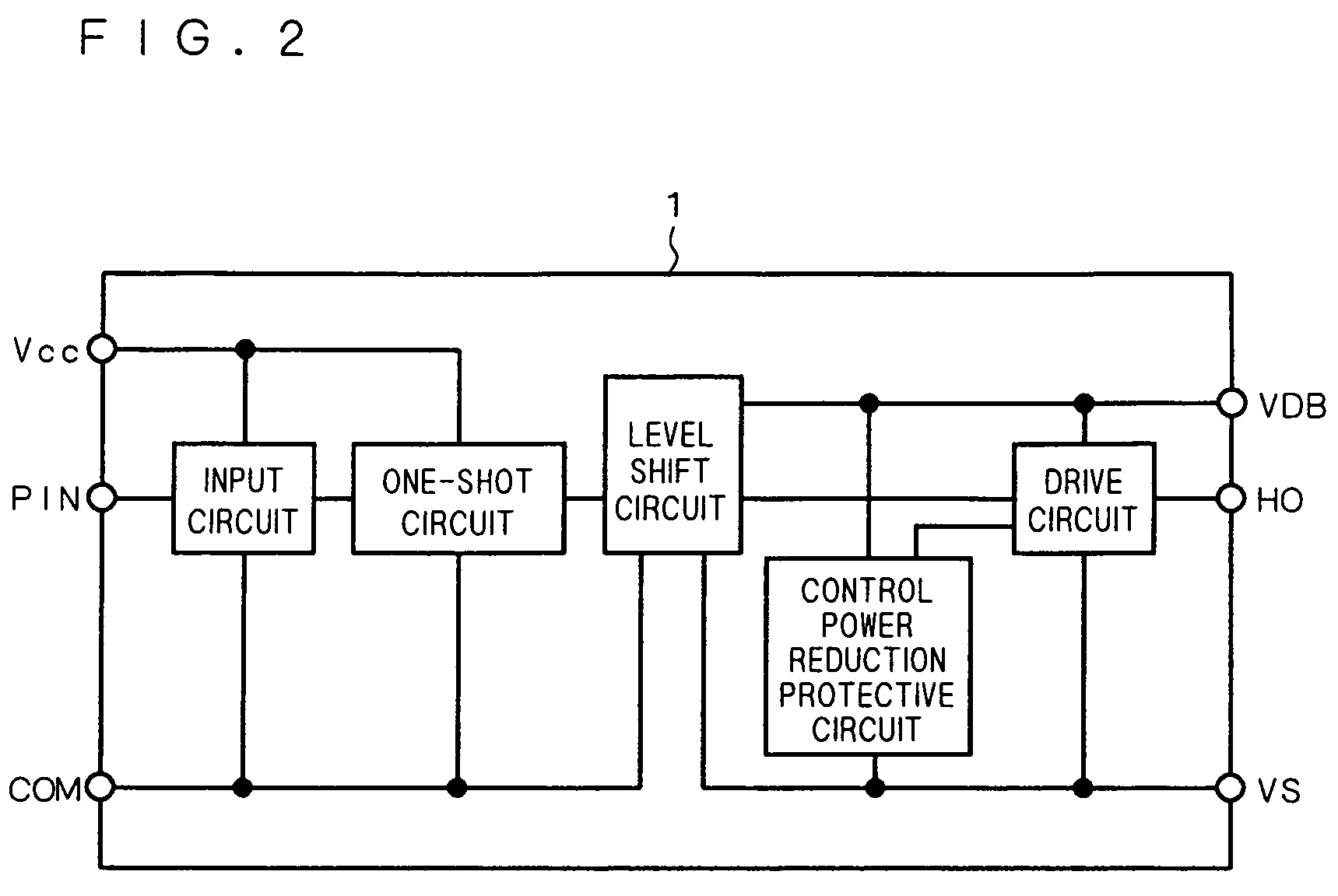 Us7683678 Inverter Circuit Google Figure 1 Diagram For Level Shifter Patent Drawing