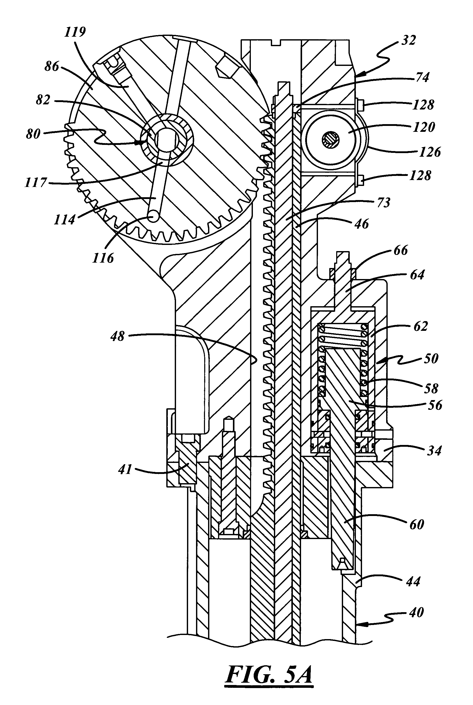patent us7685842 invert mechanism for a glassware forming