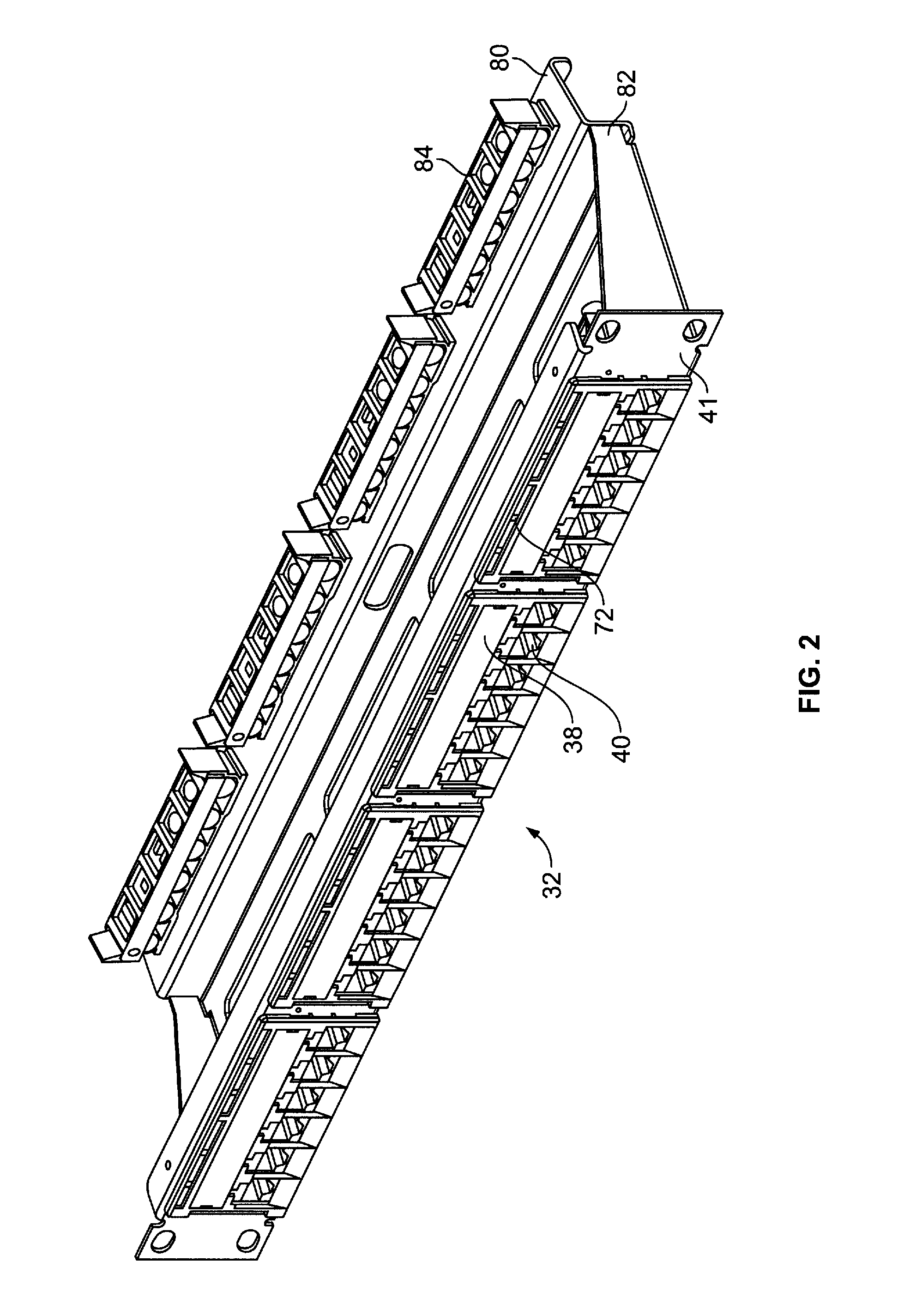 patent us7686643 - method and apparatus for visual indication in cable network systems