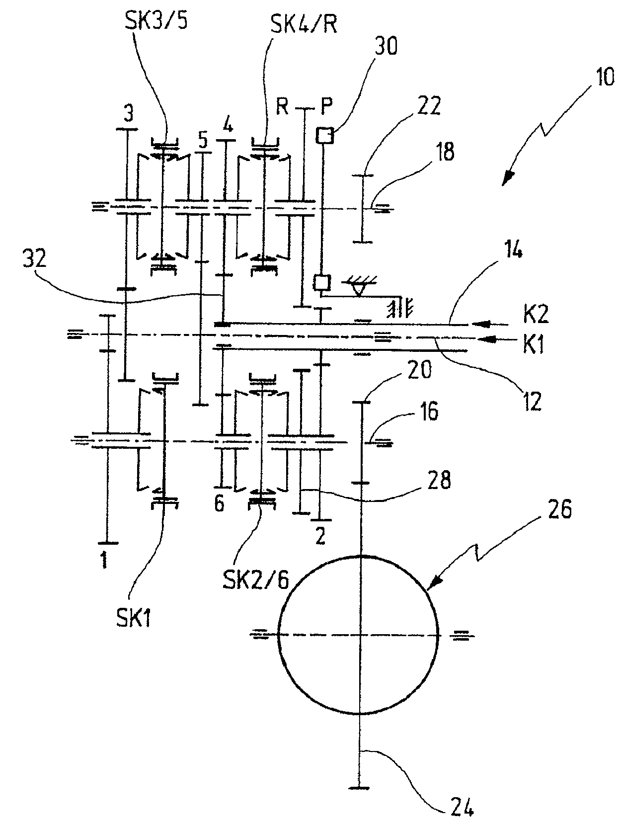 Patent Us7690278 Step Variable Transmission For A Motor