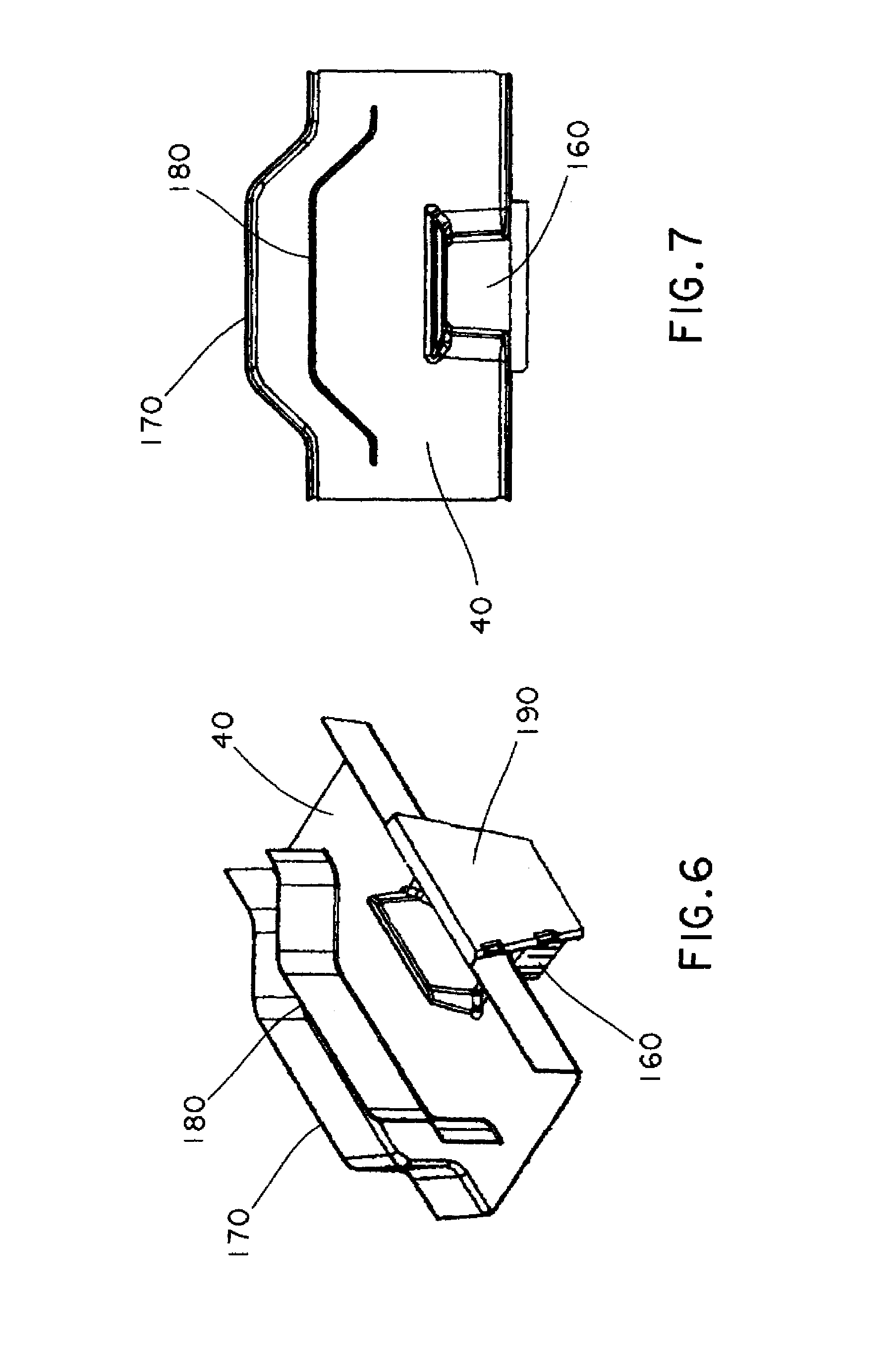 Patent Us7693386 Parallel Path Cable Routing System