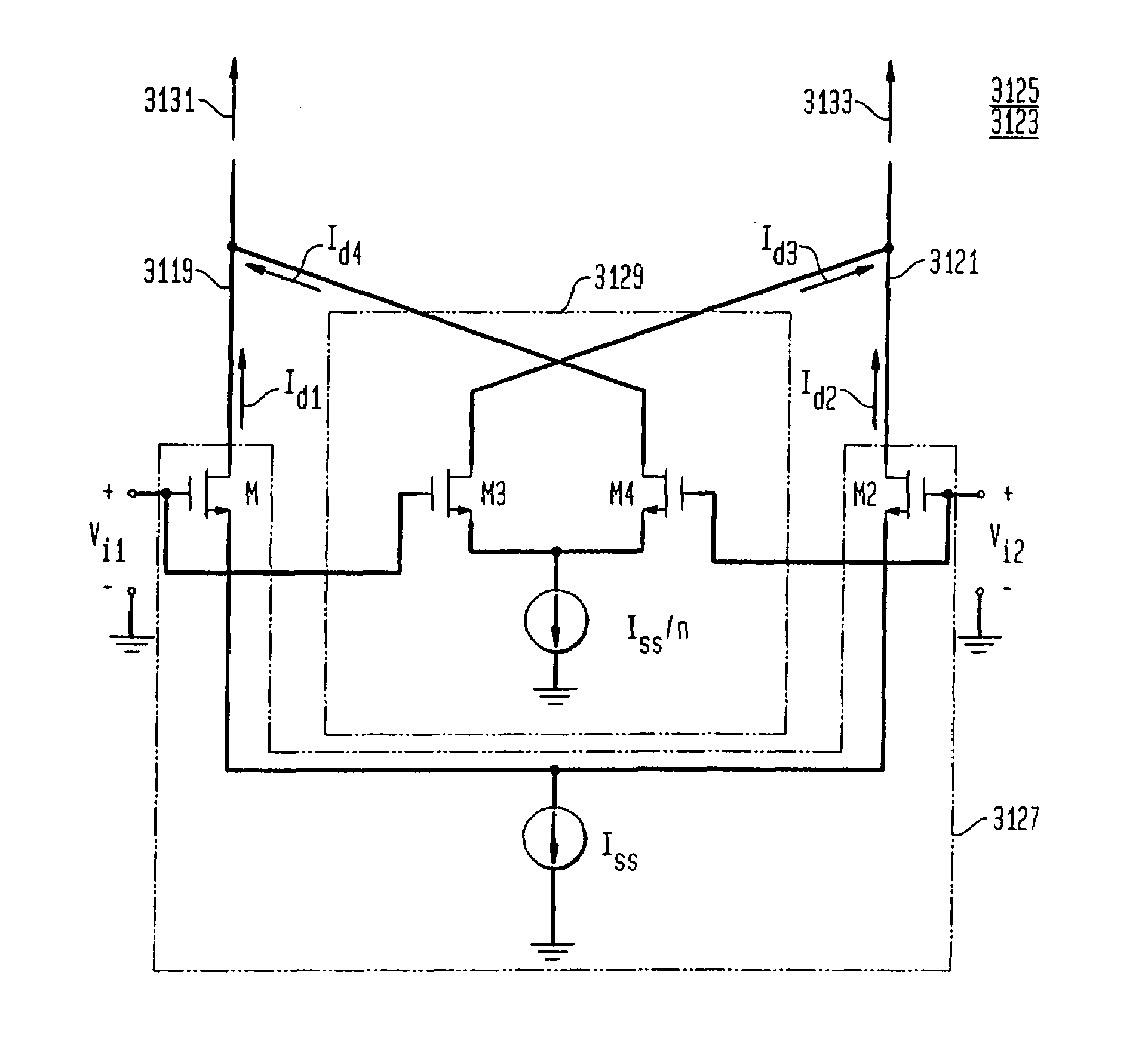 Patent Us7696823 System And Method For Linearizing A Cmos Oscillators Gt Sine Wave Pure Inverter Schematic Diagram Drawing
