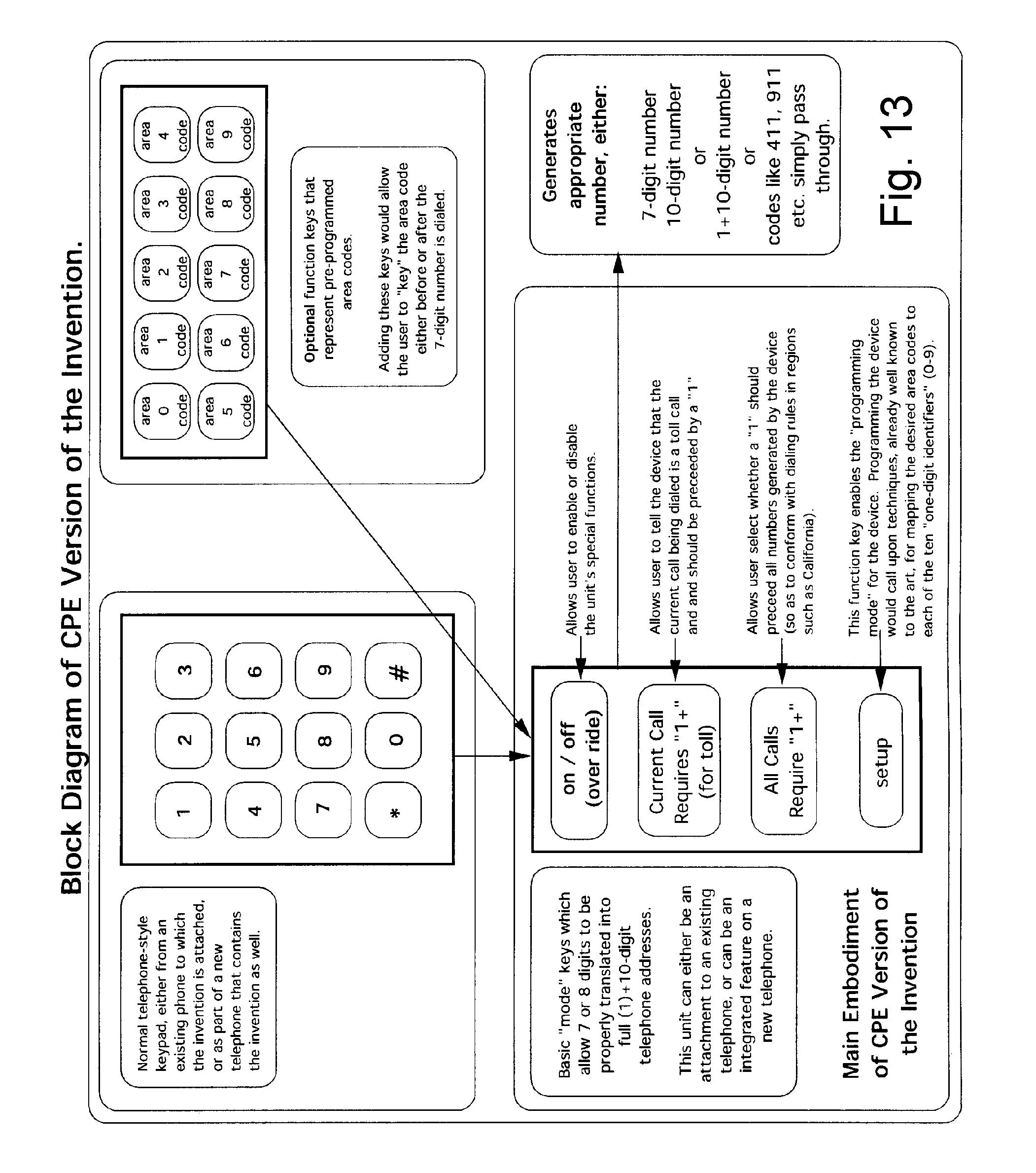 براءة الاختراع US7697678 - Unified method and apparatus to