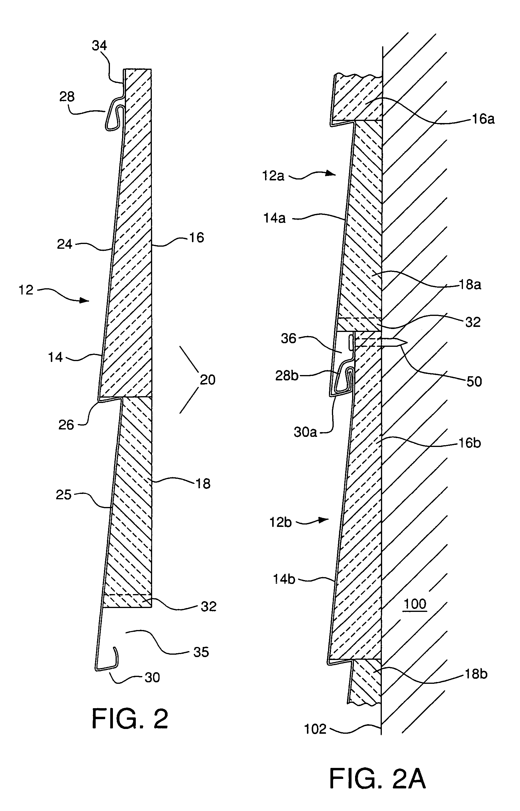 Patent Us7712276 Moisture Diverting Insulated Siding