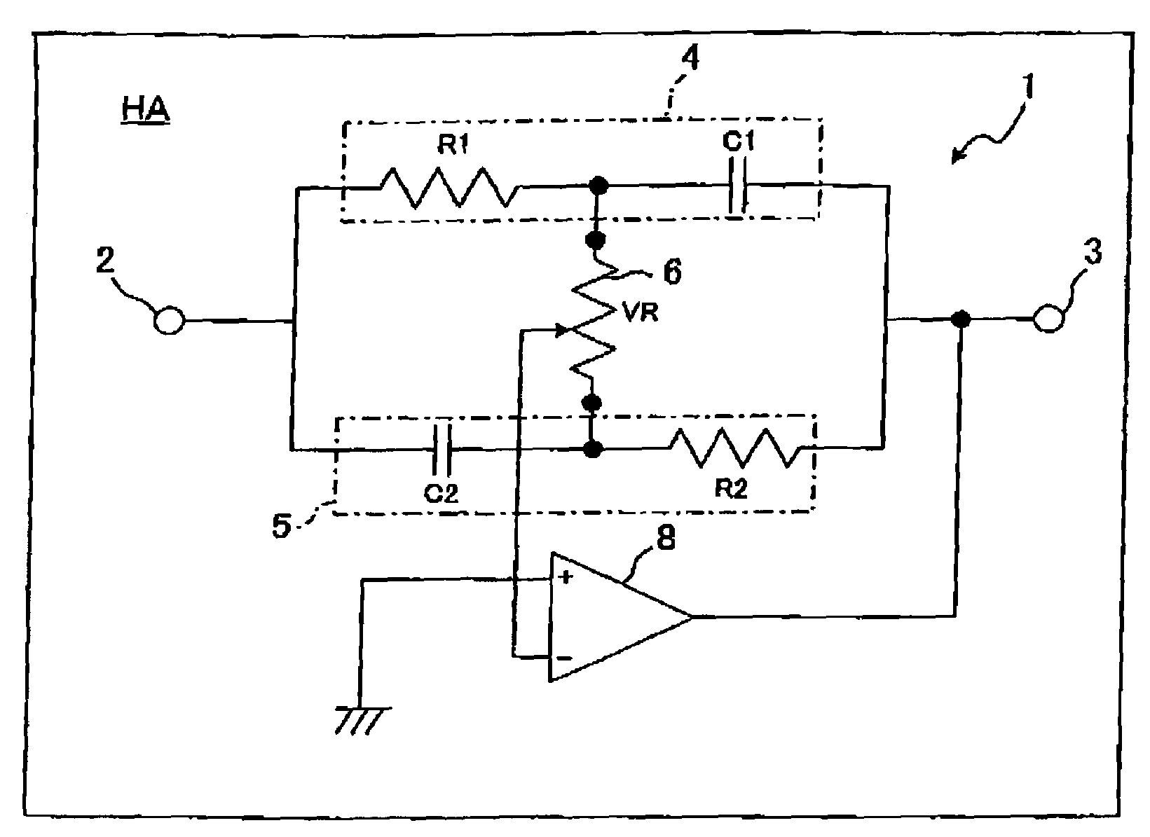 Patent Us7715579 Tone Control Circuit For Hearing Aid And The Like Diagram Drawing