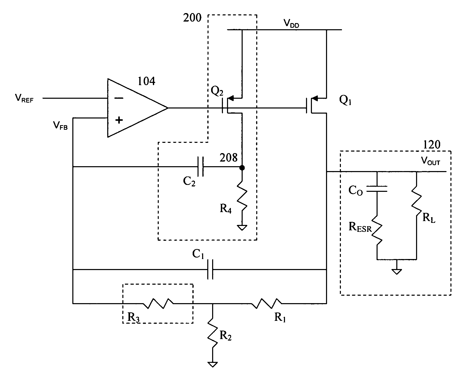 Patent Us7719241 Ac Coupled Equivalent Series Resistance Google Circuit With Resistive Loads Drawing