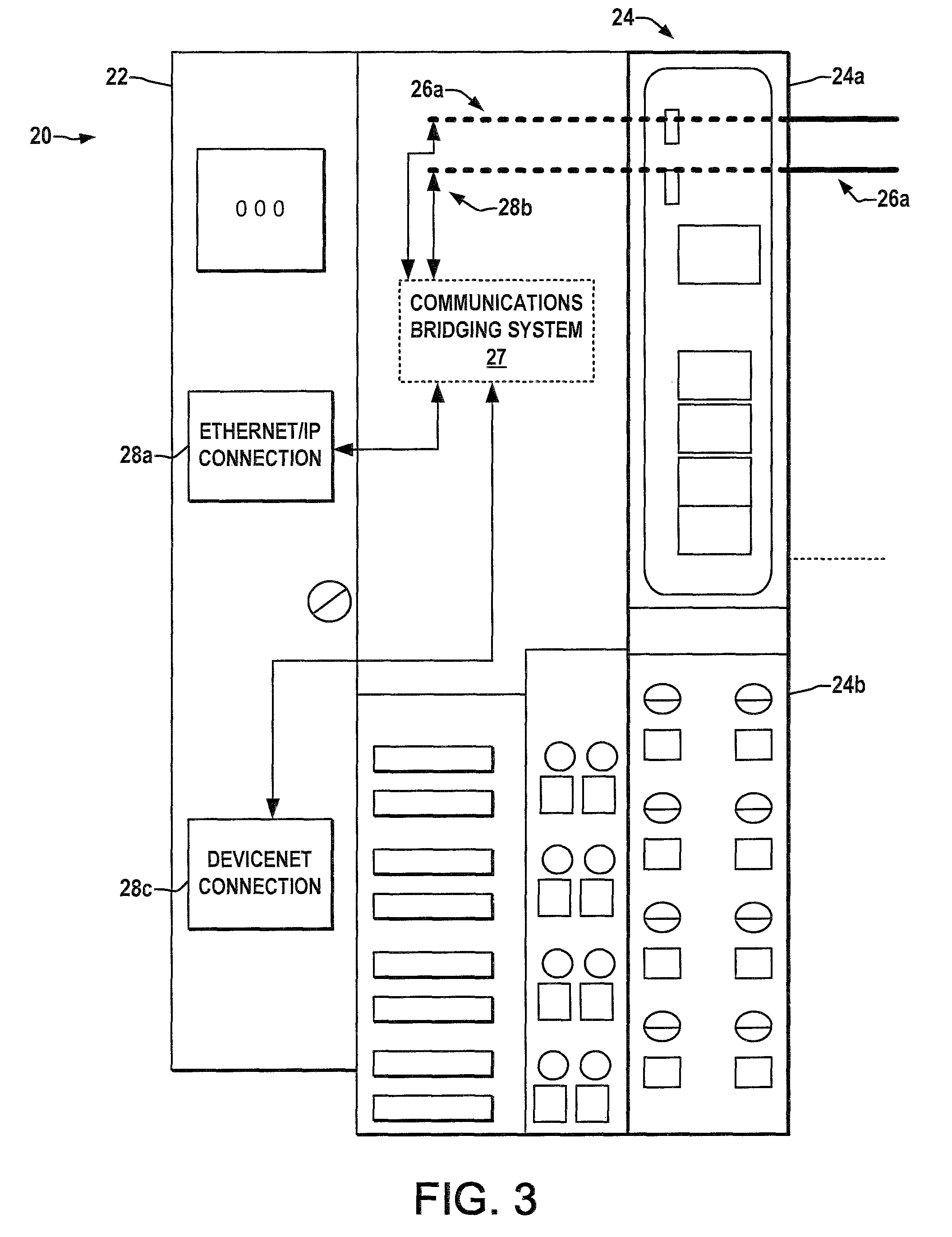 US07719961 20100518 D00003 patente us7719961 industrial ethernet communications adapter on 1734 aent wiring diagram