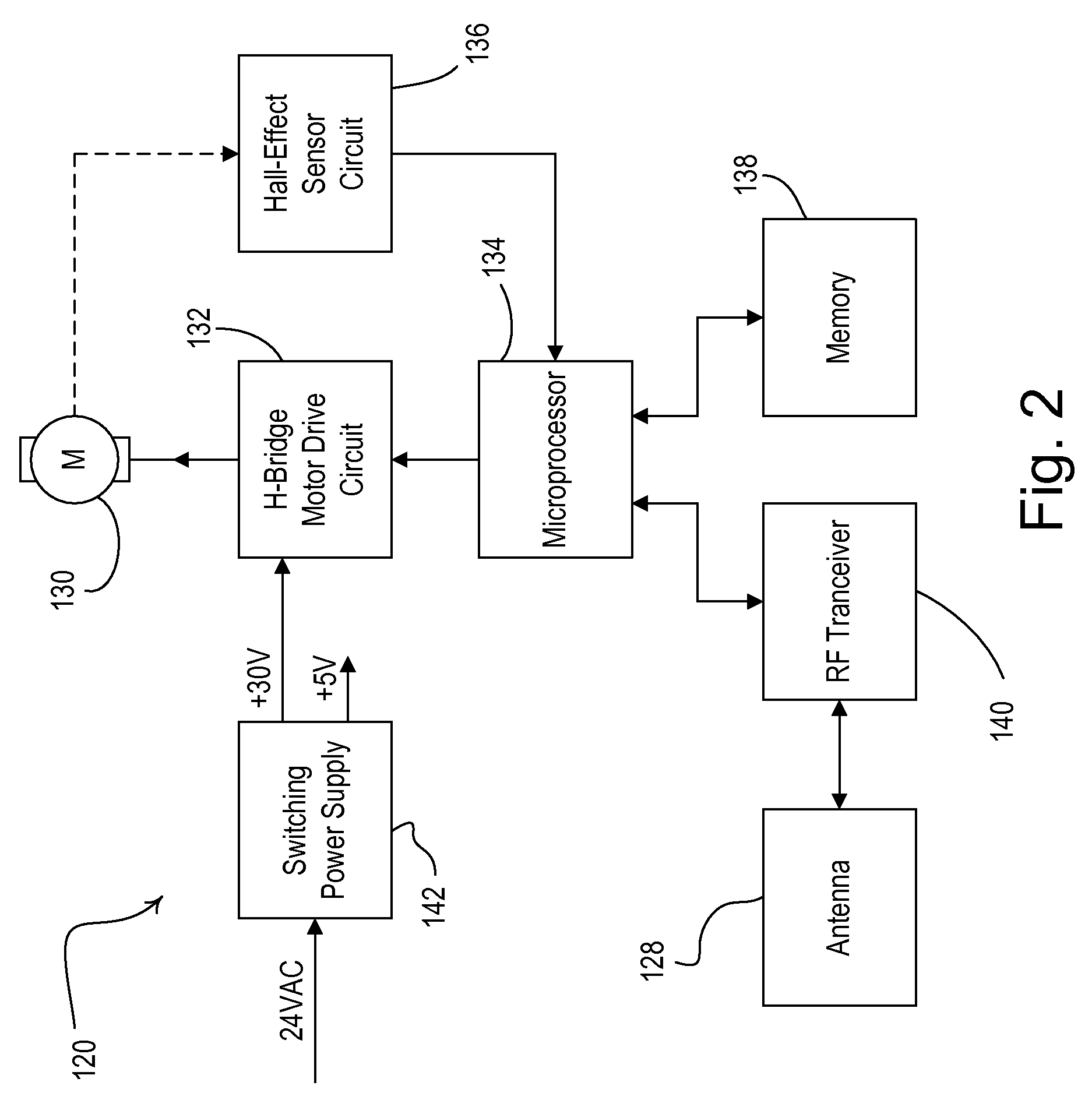 patent us radio frequency controlled motorized roller patent drawing