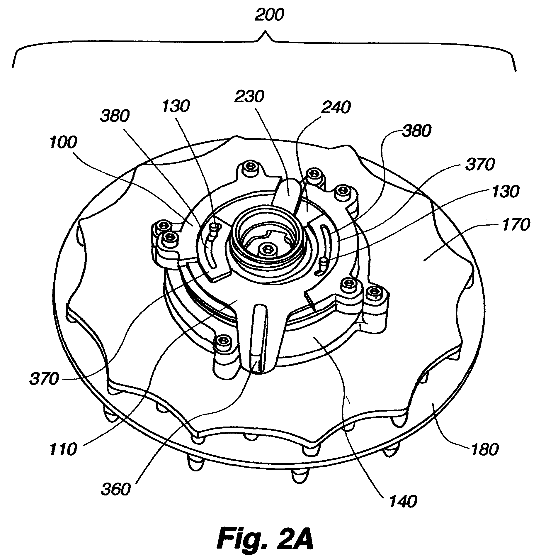 patent us7740186 drenching shower head patents 1951 Henry J Gasser patent drawing