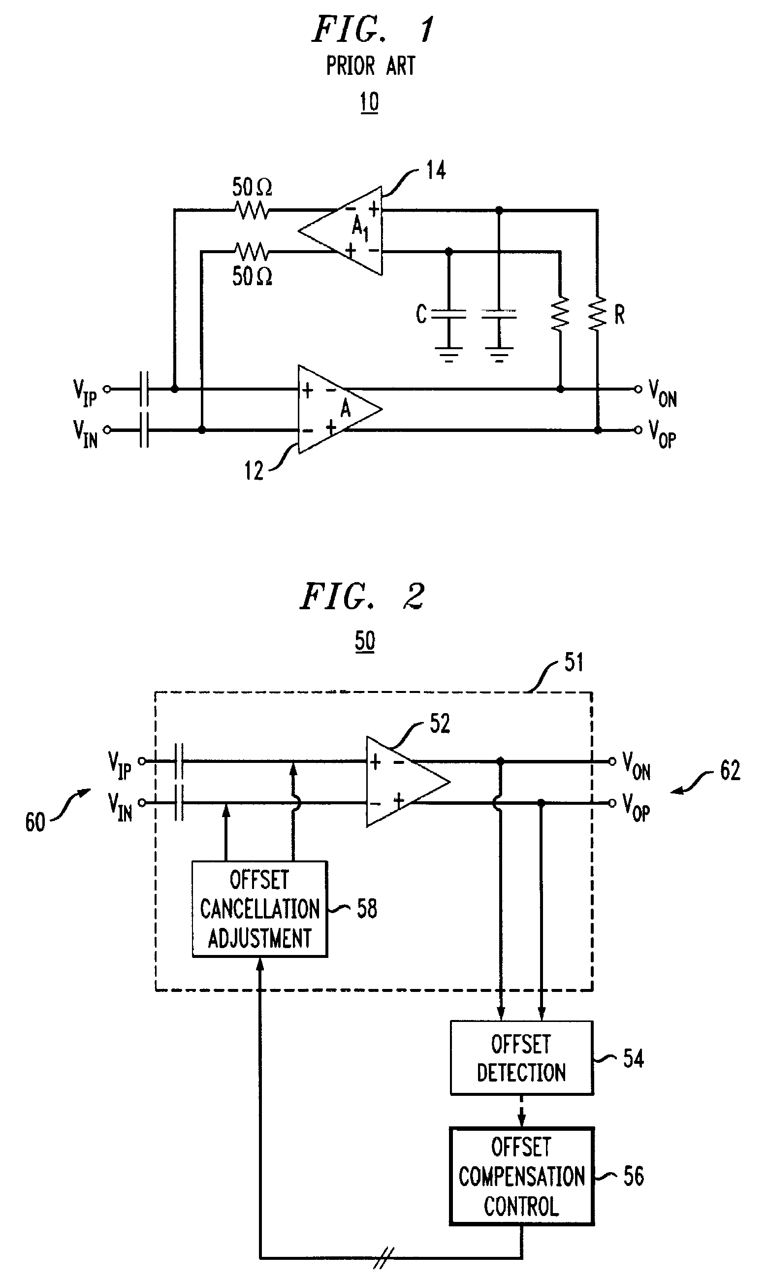 Patent Us7755421 Analog Amplifier Having Dc Offset Cancellation Circuits Drawing
