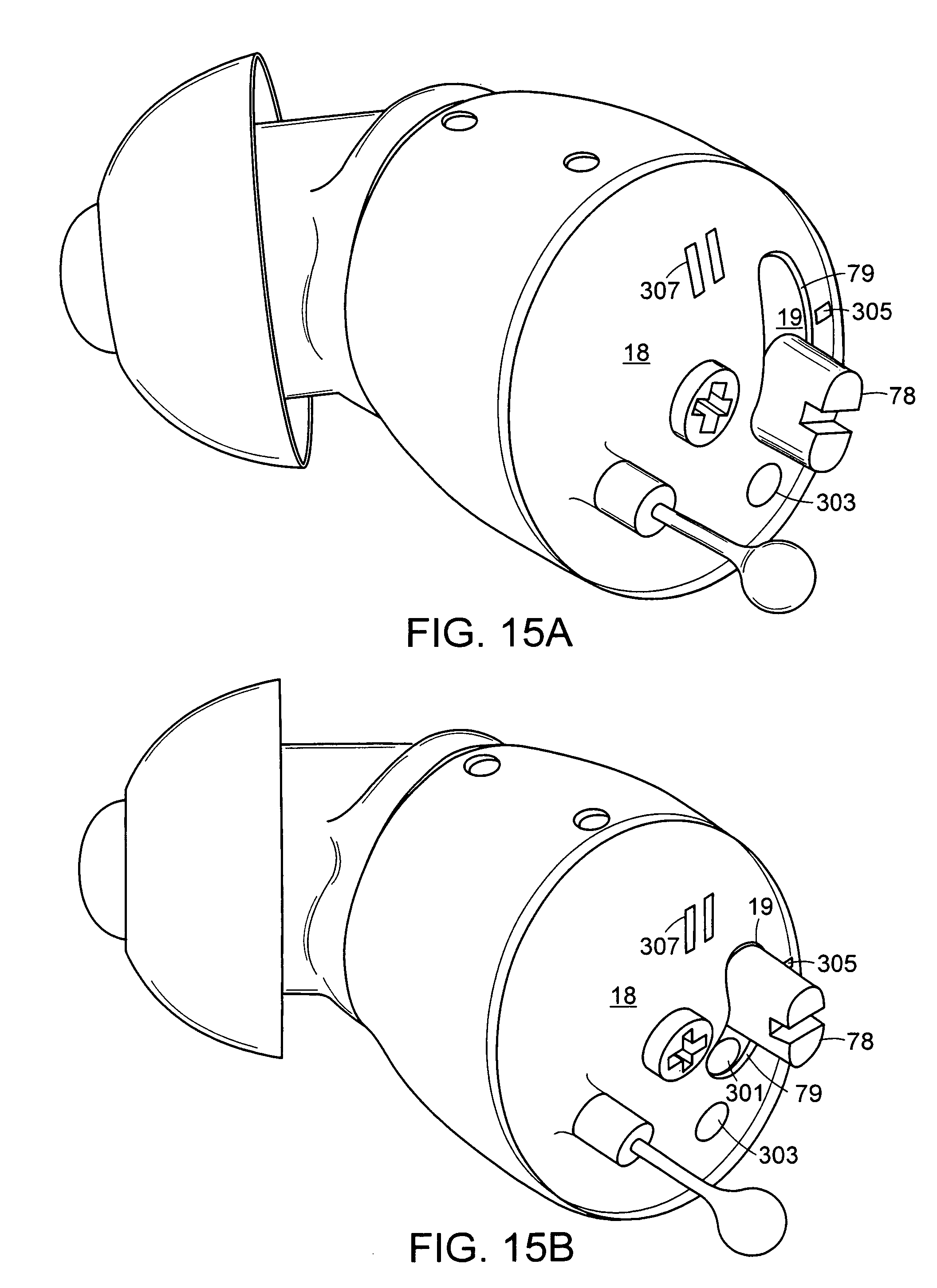patent us7756284 - hearing aid circuit with integrated switch and battery