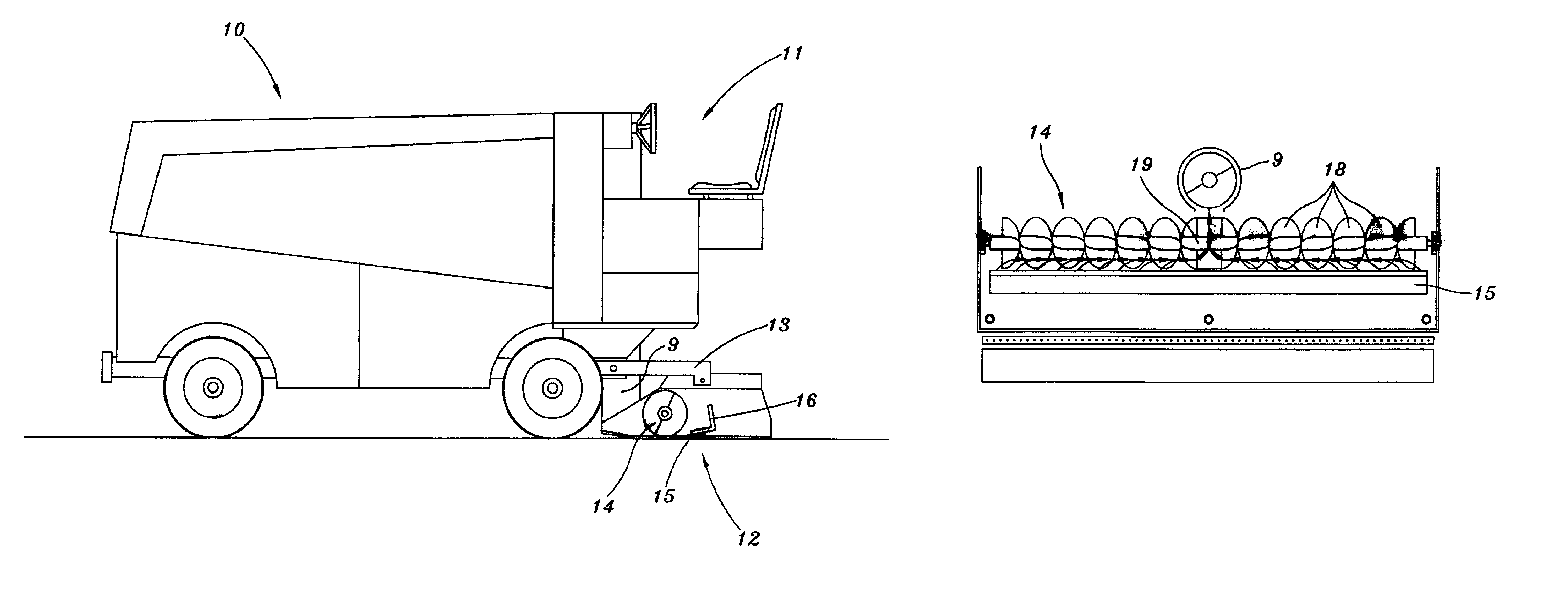 Patent Us7757415 Horizontal Ice Cuttings Conveyor For