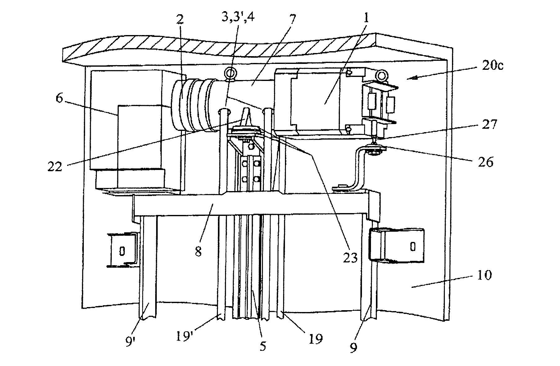 Elevator Installation Manual : Patent us drive motor for an elevator