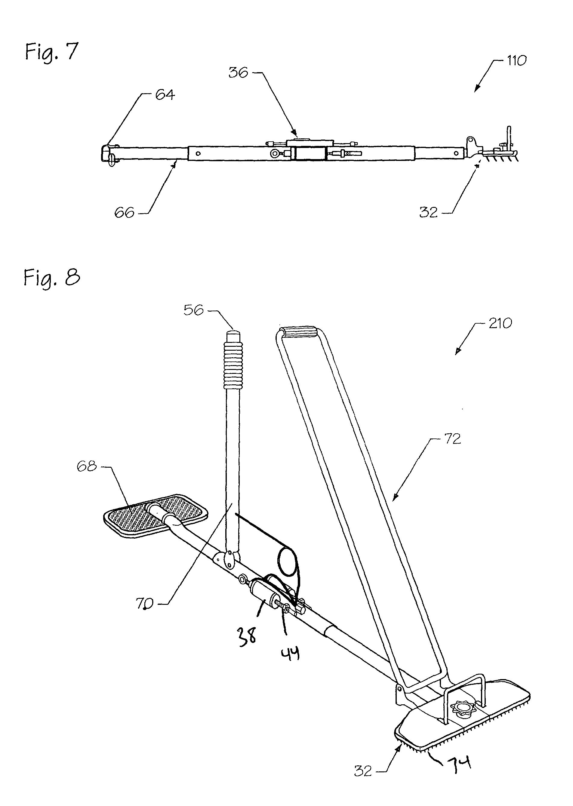 Patent Us7758022 Pneumatic Carpet Stretcher Google Patents