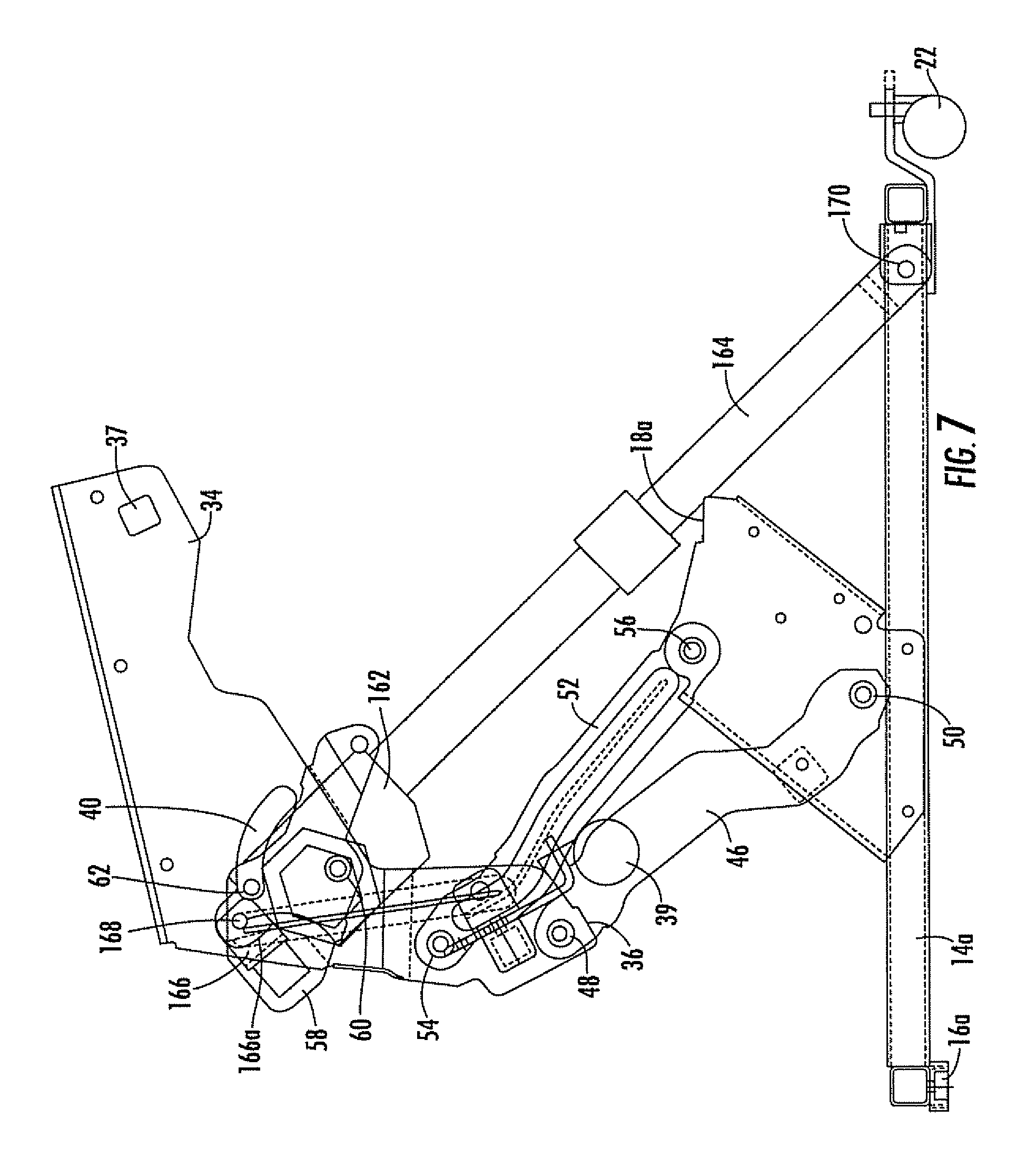 Power Lift Diagram : Patent us recliner lift chair with power and