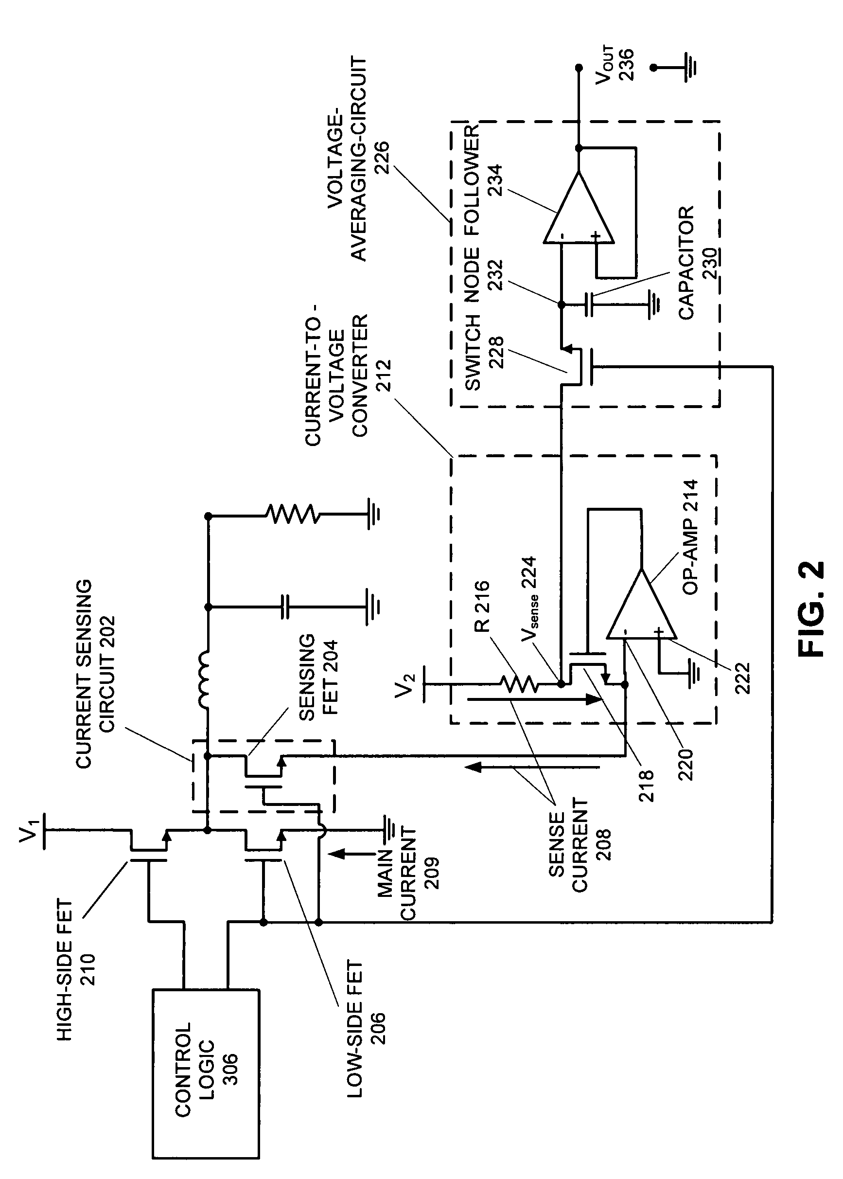 Patent Us7772818 Method And Apparatus For Measuring An Average Simple Currenttovoltage Converter Circuit Diagram Electronic Drawing