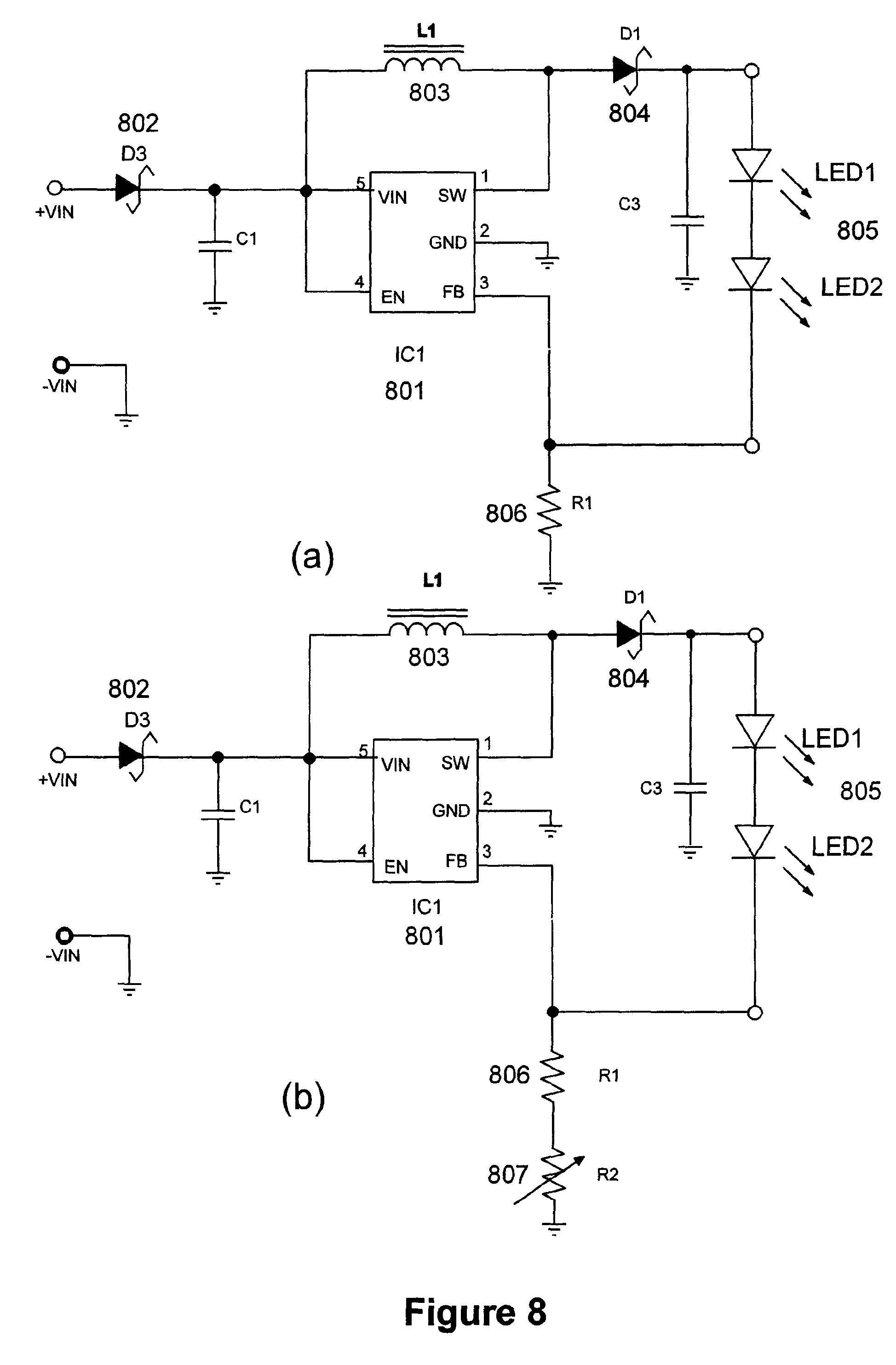 Patent Us7777430 Light Emitting Diode Replacement Lamp Google Images Tps61040 Boost Converter Schematic Drawing