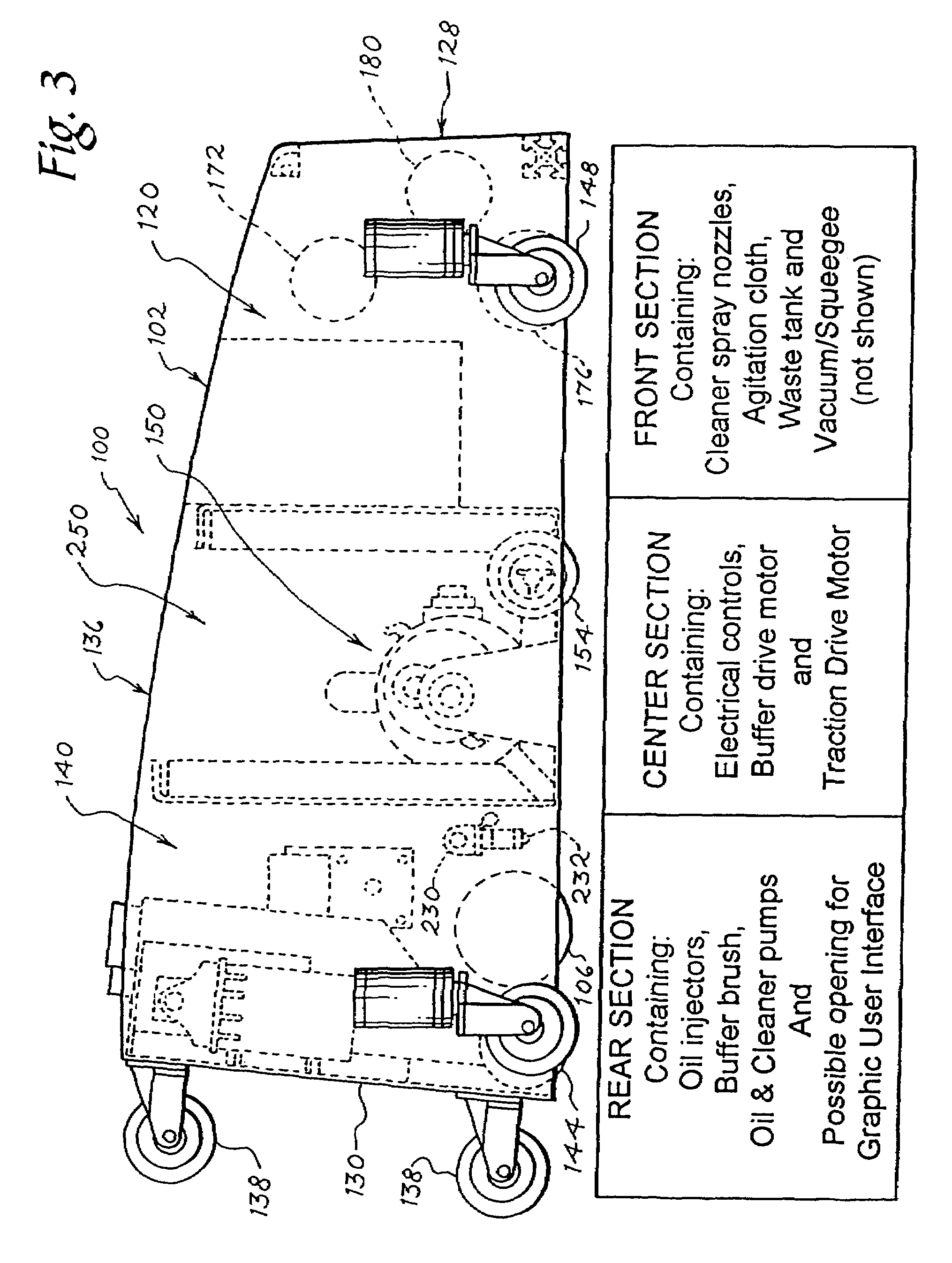 Patent Us7784147 Bowling Lane Conditioning Machine Google Patents Hydraulic Clutch System Diagram Furthermore Fuel Injector Rail Drawing