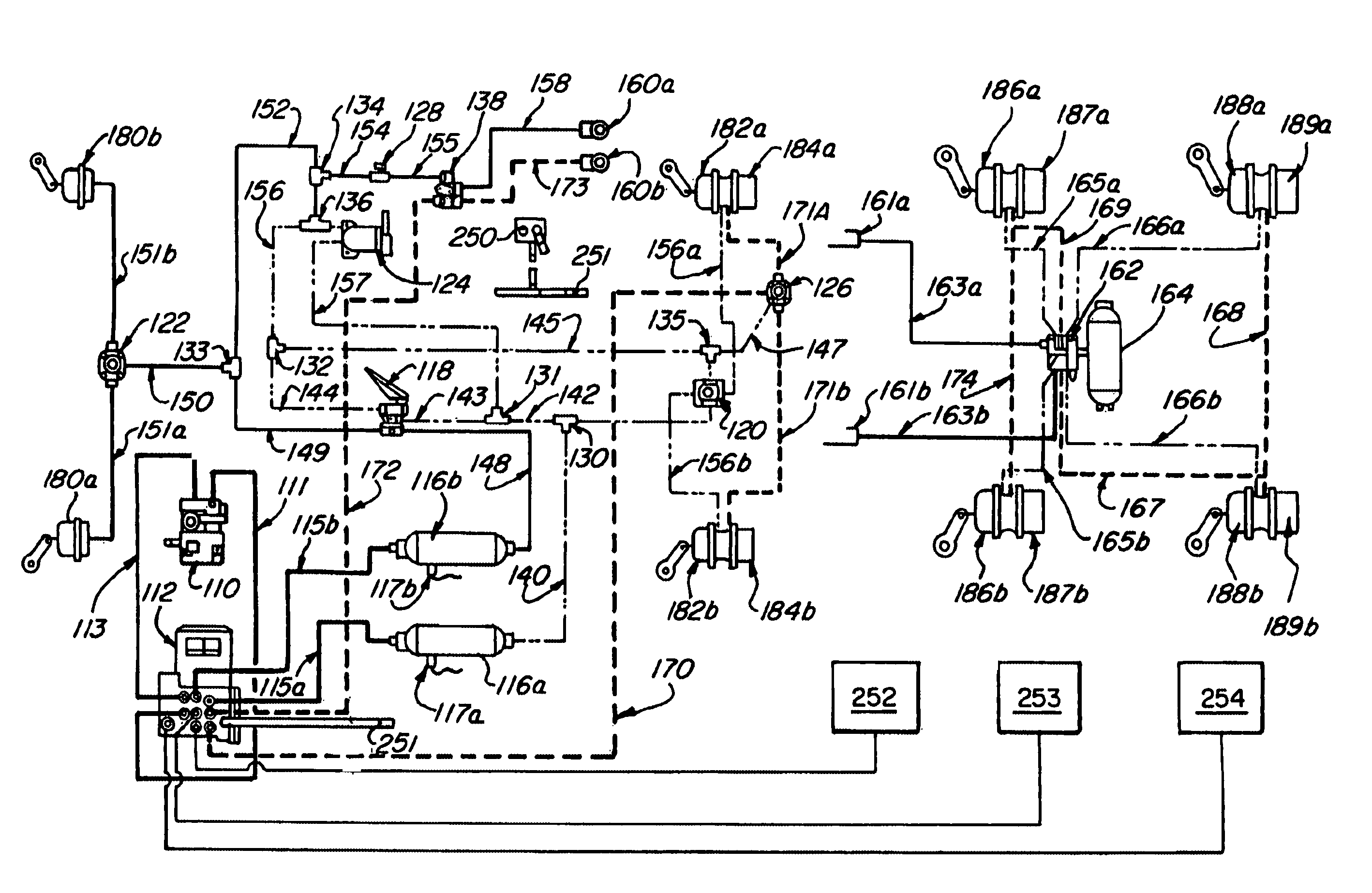 semi truck air line diagram  semi  free engine image for