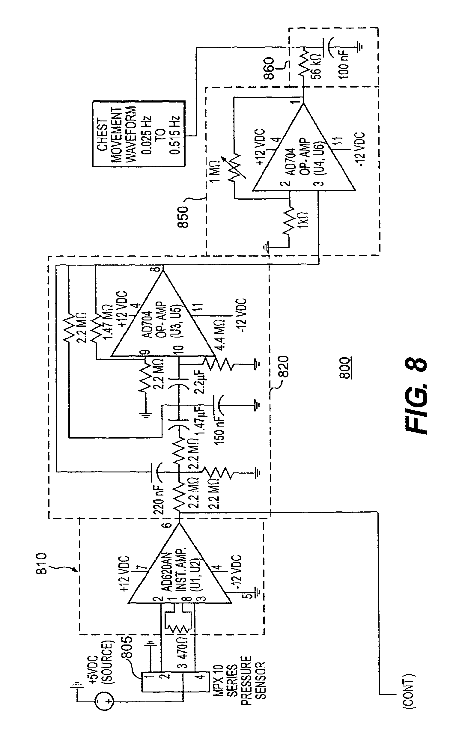Patent Us7785257 System And Process For Non Invasive Collection Emg Block Diagram As Well Sensor Lifier Circuit Piezo On Capacitive Drawing