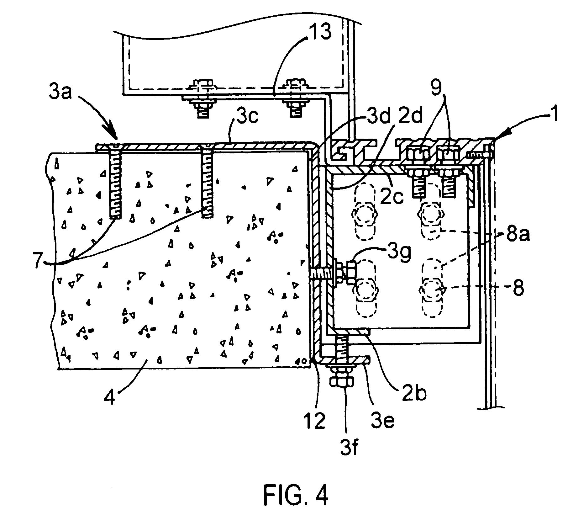 Patent Us7788854 Elevator Entrance Door Sill Pivotable