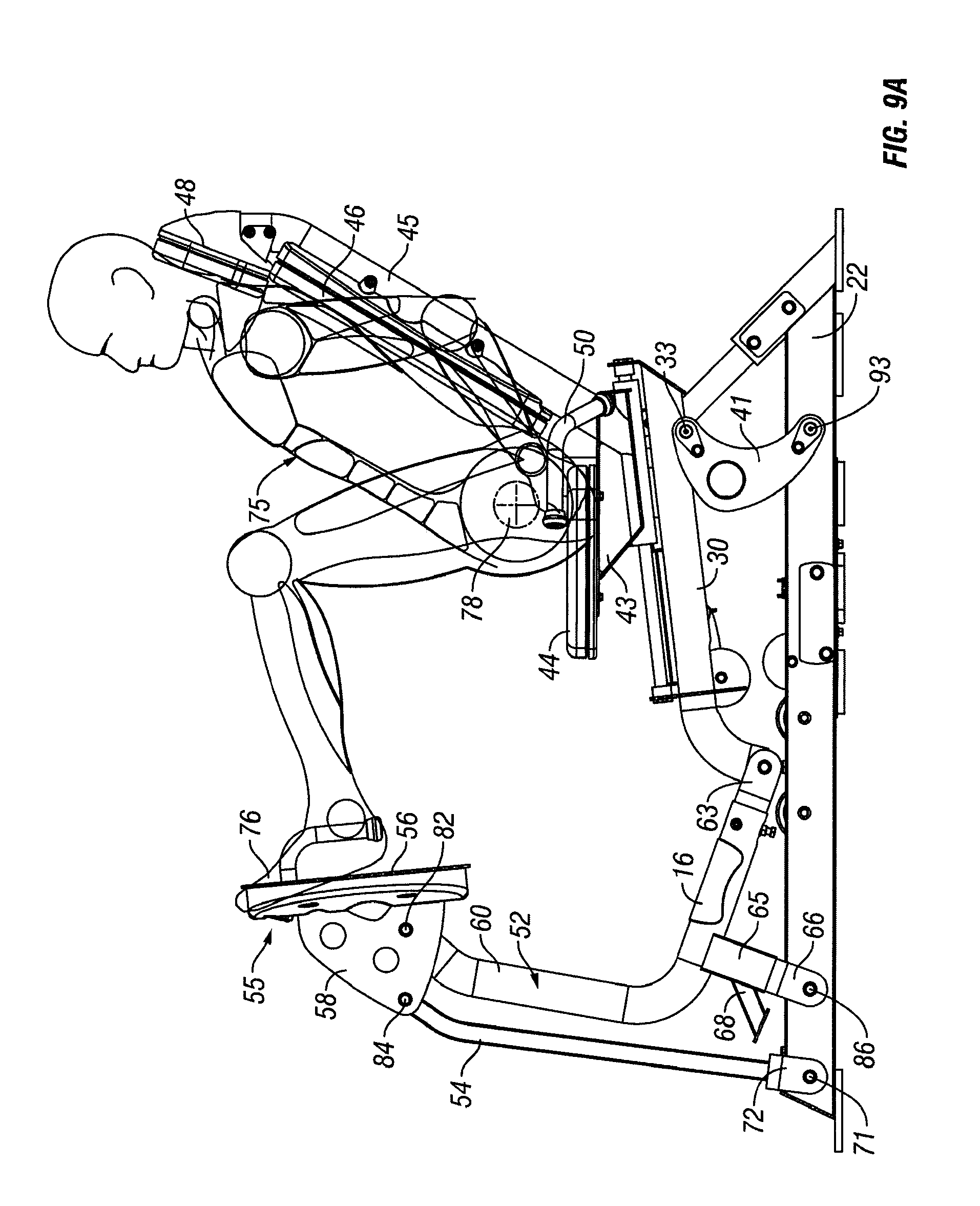 Patent US7794372 - Leg press exercise machine with self ...