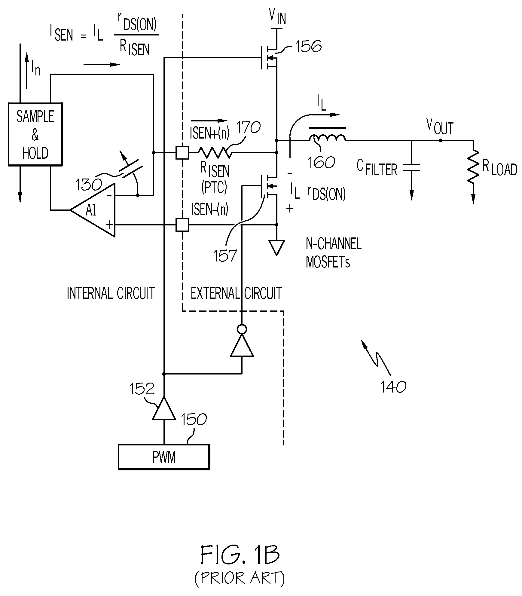 patent us7796365 method of improved current sensing in dc dc 555 Timer PWM Circuit patent drawing