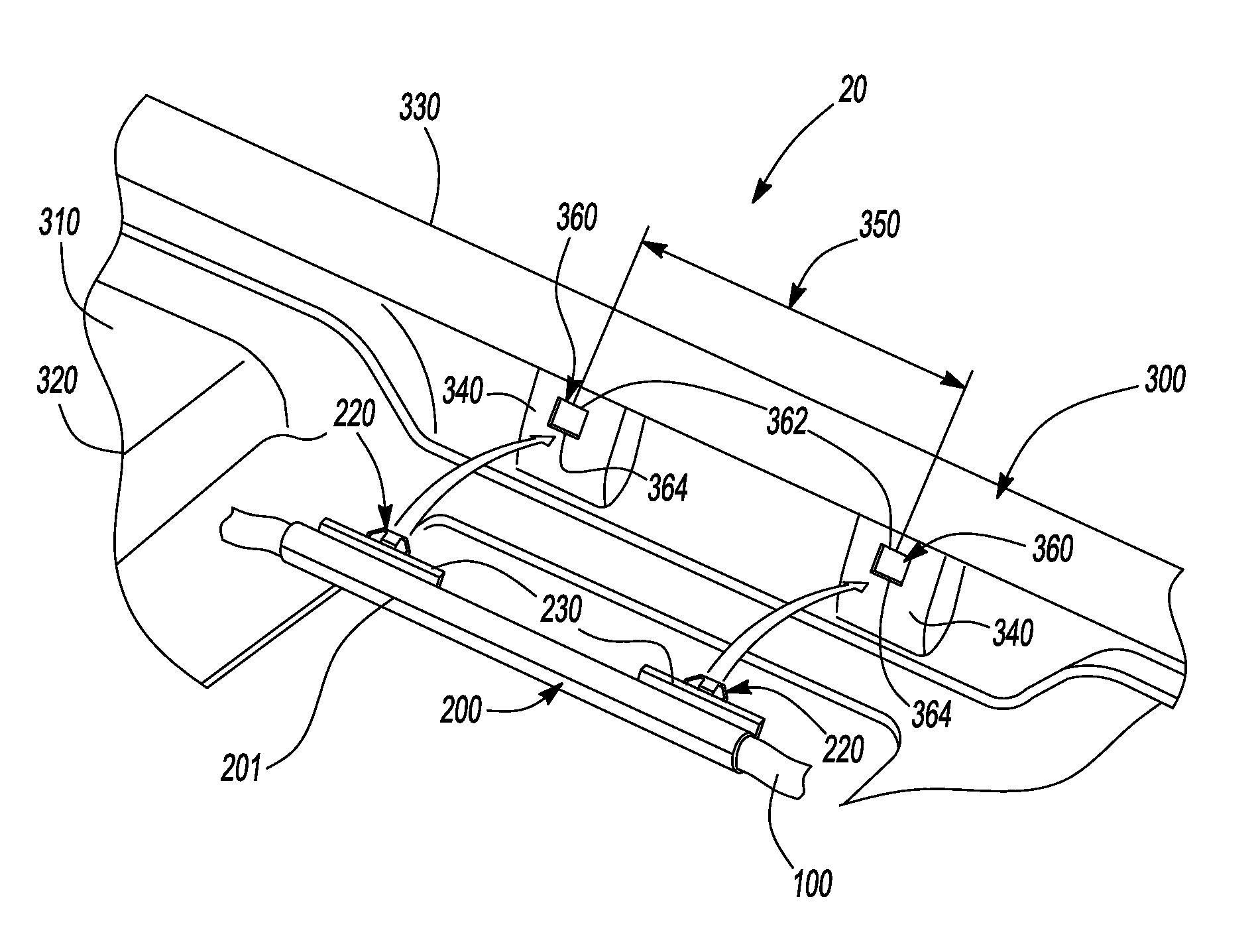 patent us7798566 - molded headliner reinforcement