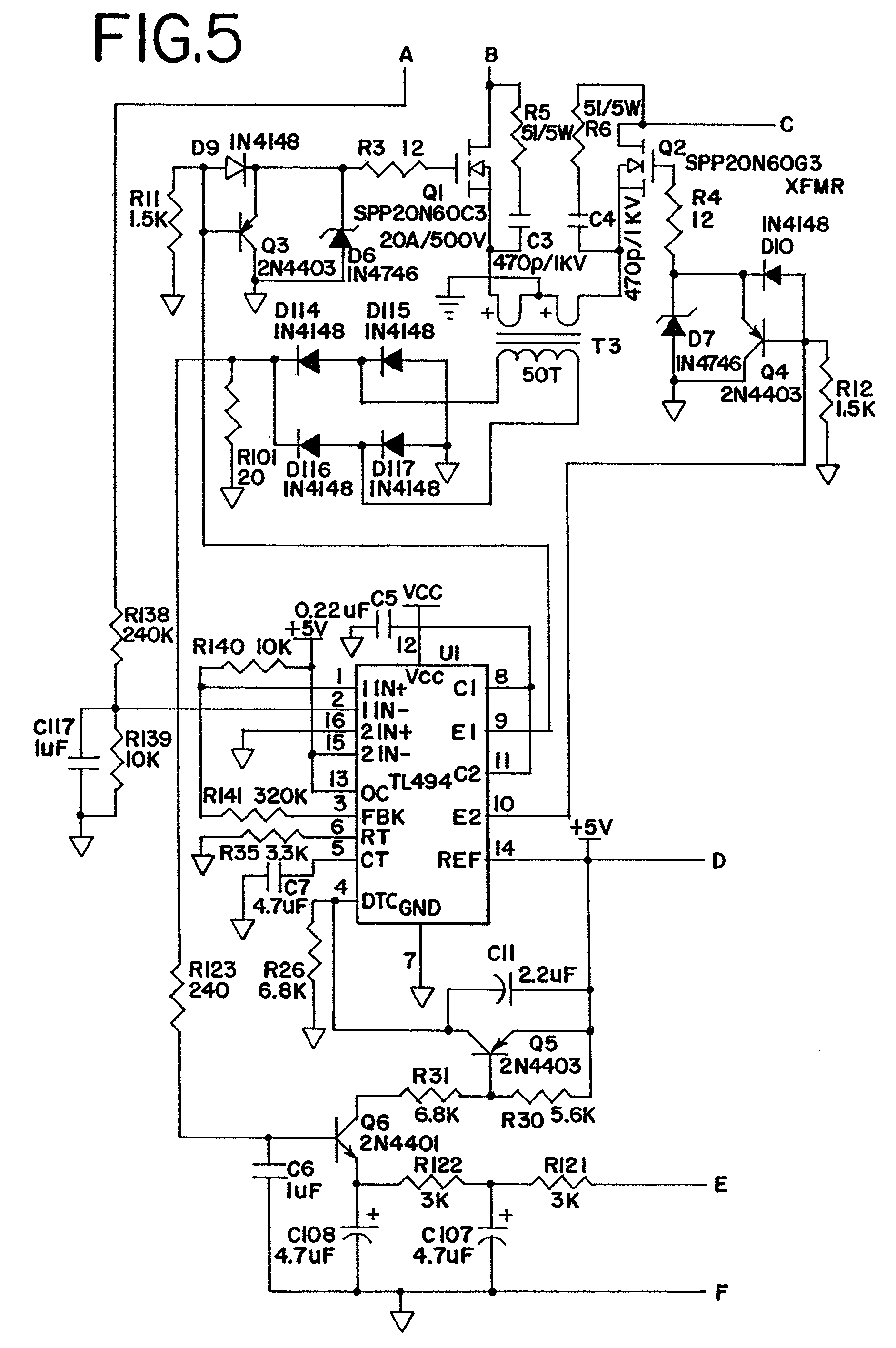 5v battery charger circuit diagram