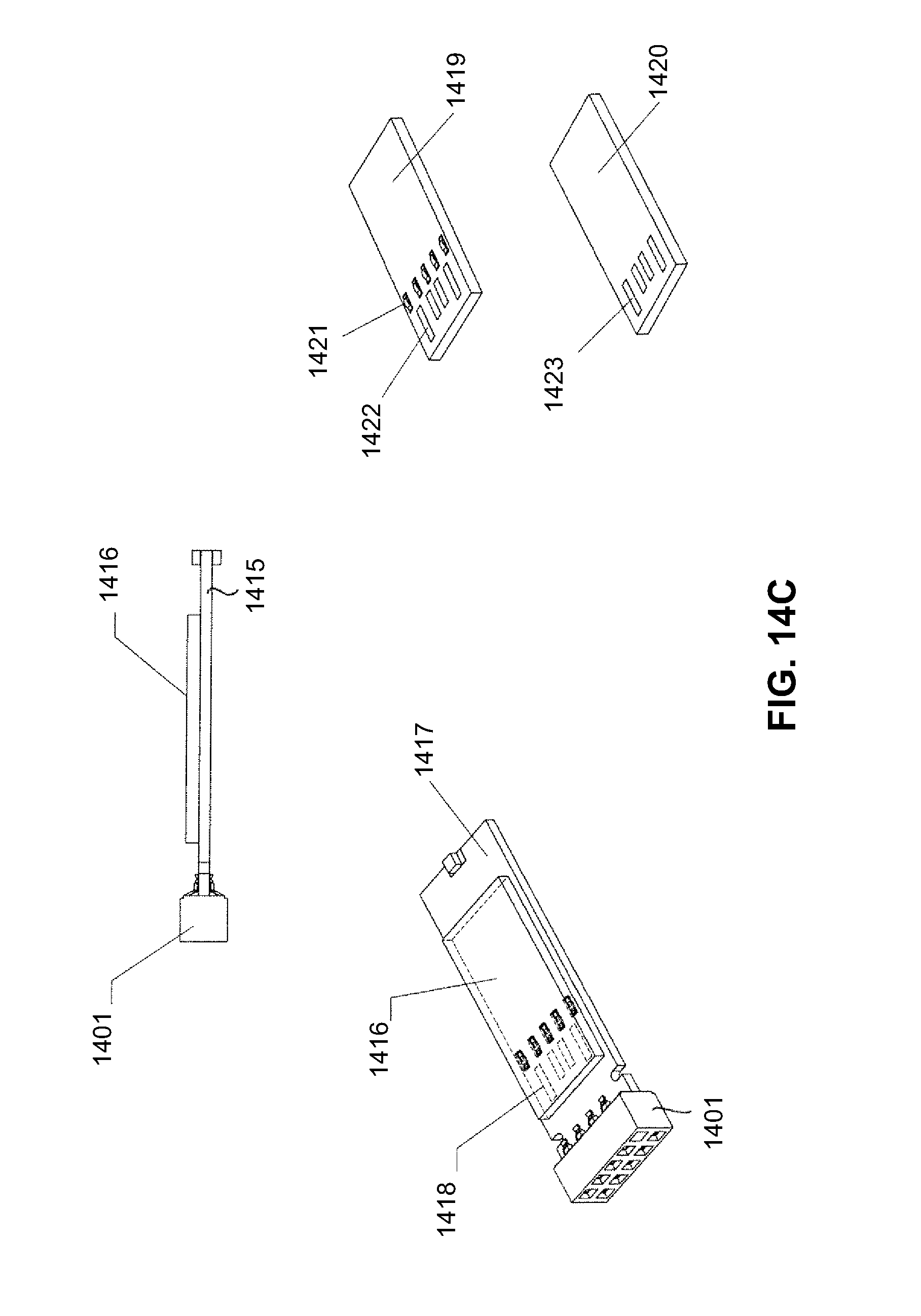 patent us7815469 dual personality extended usb plugs and USB Header Pinout patent drawing