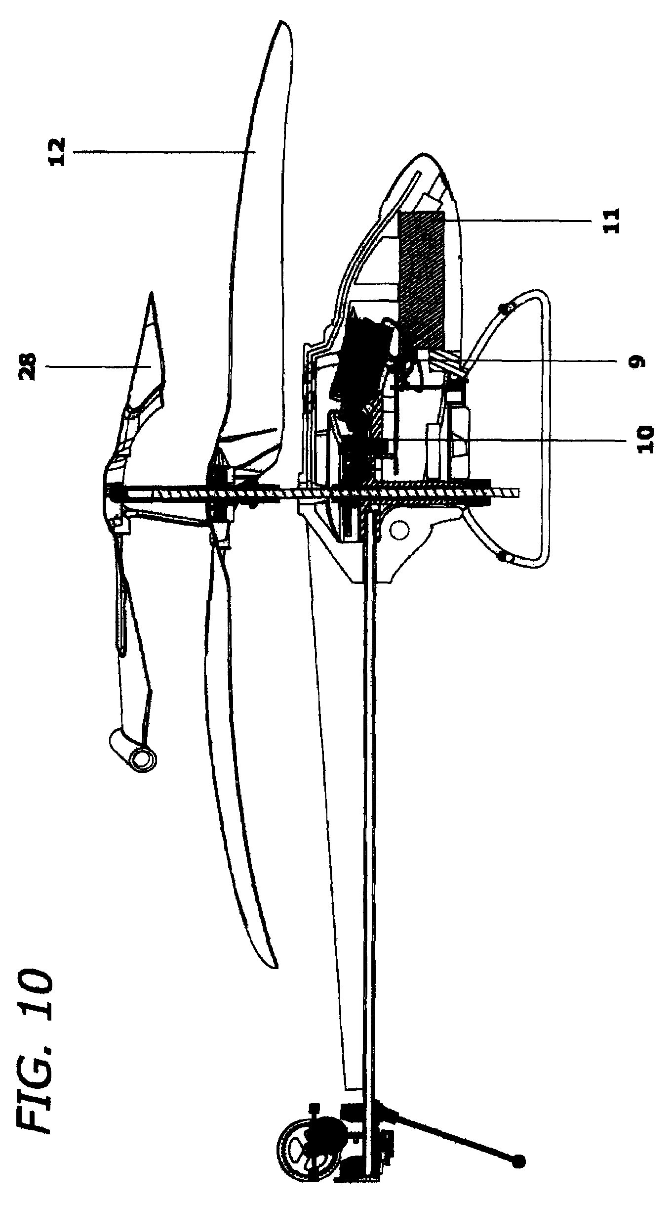 relationship between main rotor and tail rotorless helicopter