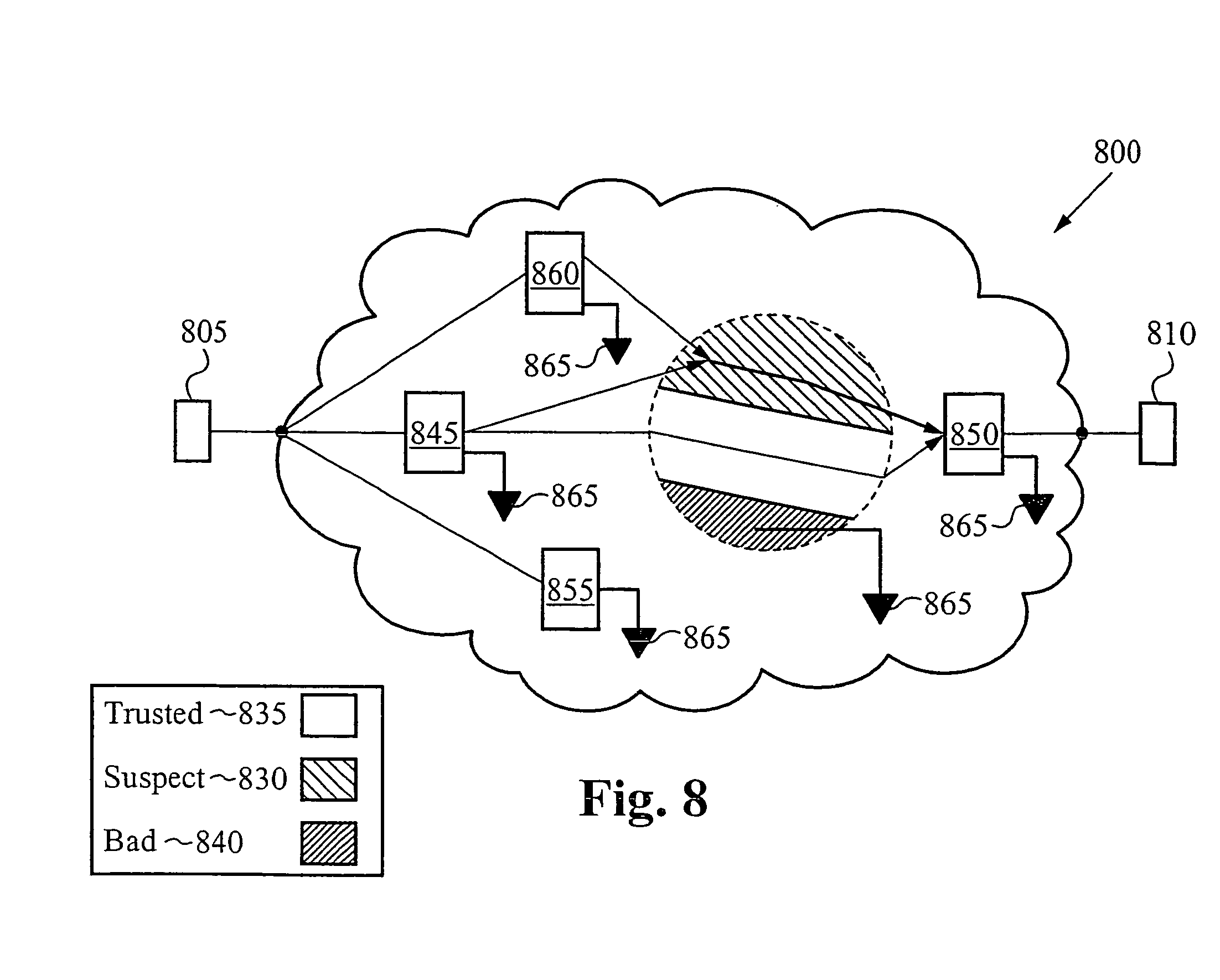 patent us methods and systems for network traffic patent drawing