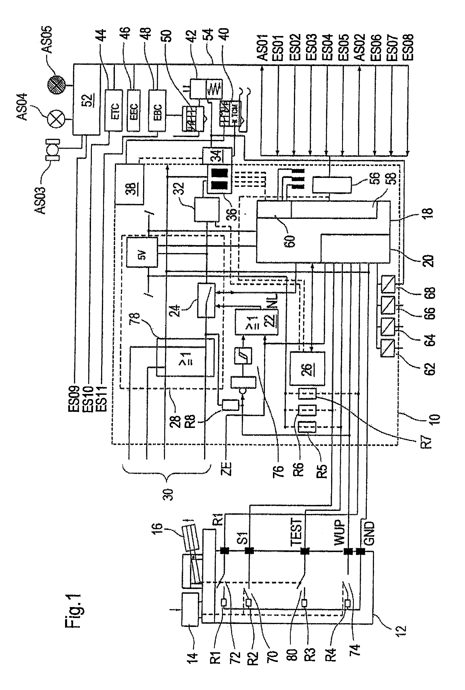 Wabco 4s 4m Wiring Diagram 26 Images Scania Abs Us07821154 20101026 D00001 Patent Us7821154 Device And Method For Controlling An Electric