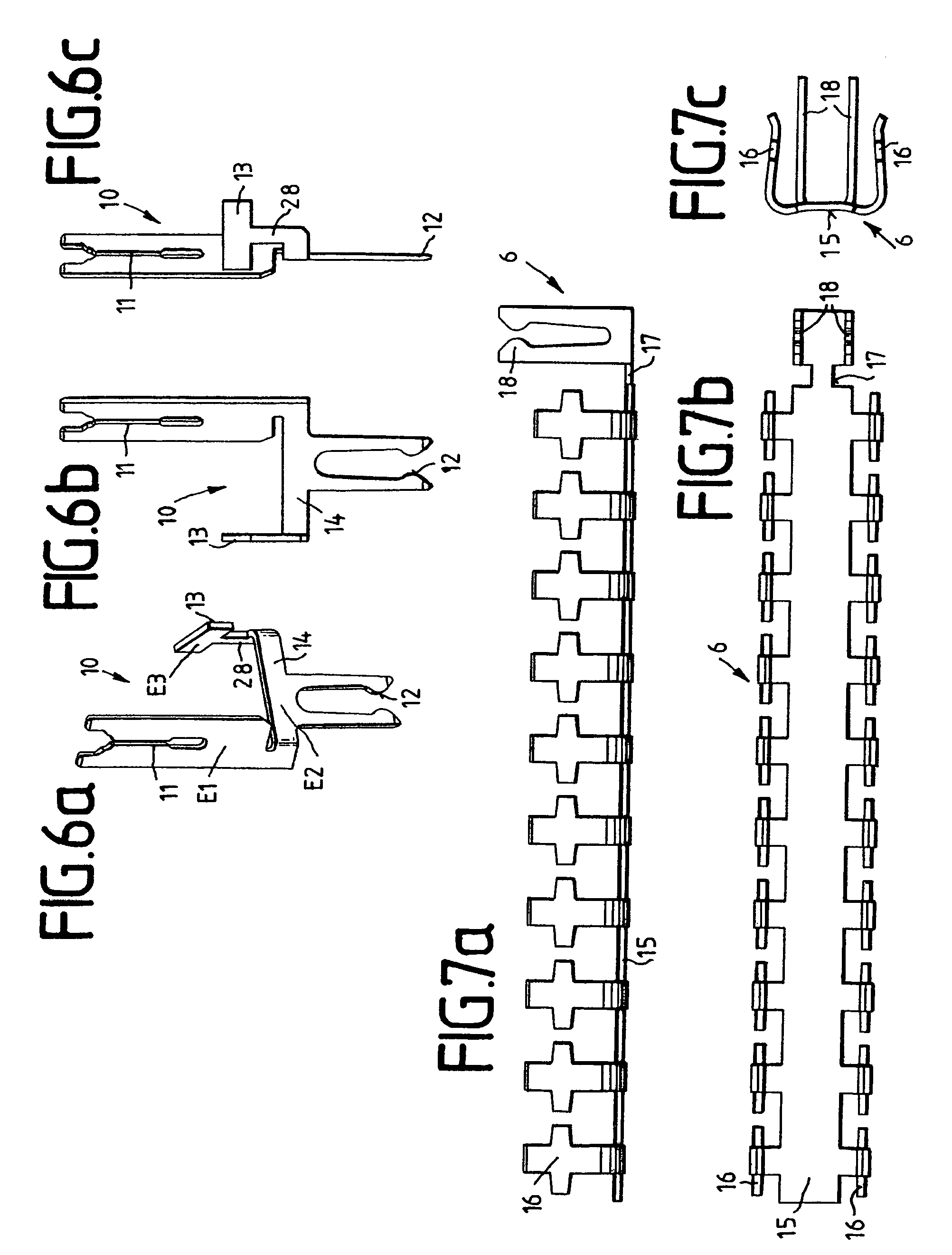 patent us7828584 - plug-type connector for printed circuit boards