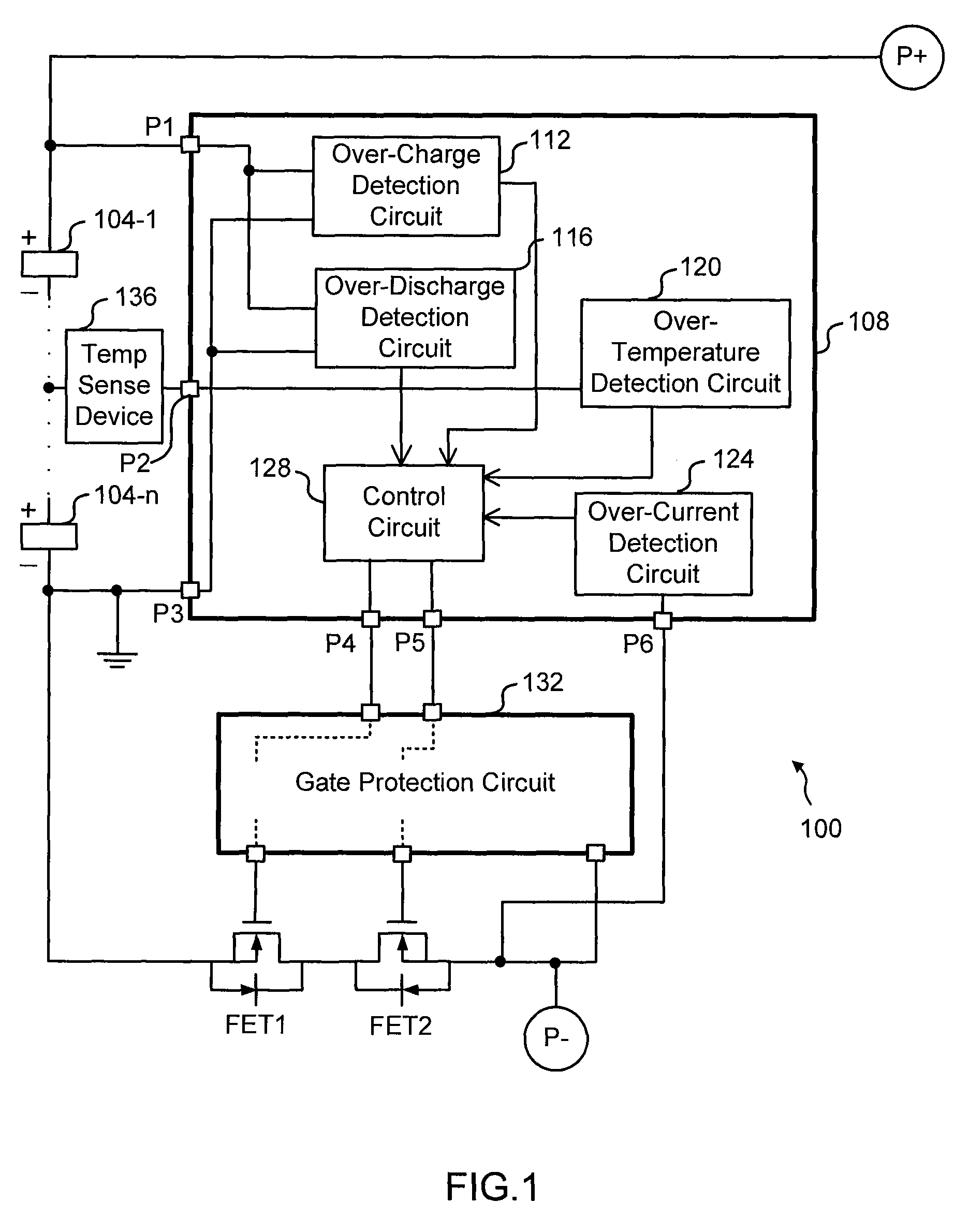 Patent Us7830120 Low Side N Channel Fet Protection Circuit Mosfet From Overheating Electronic Projects Drawing