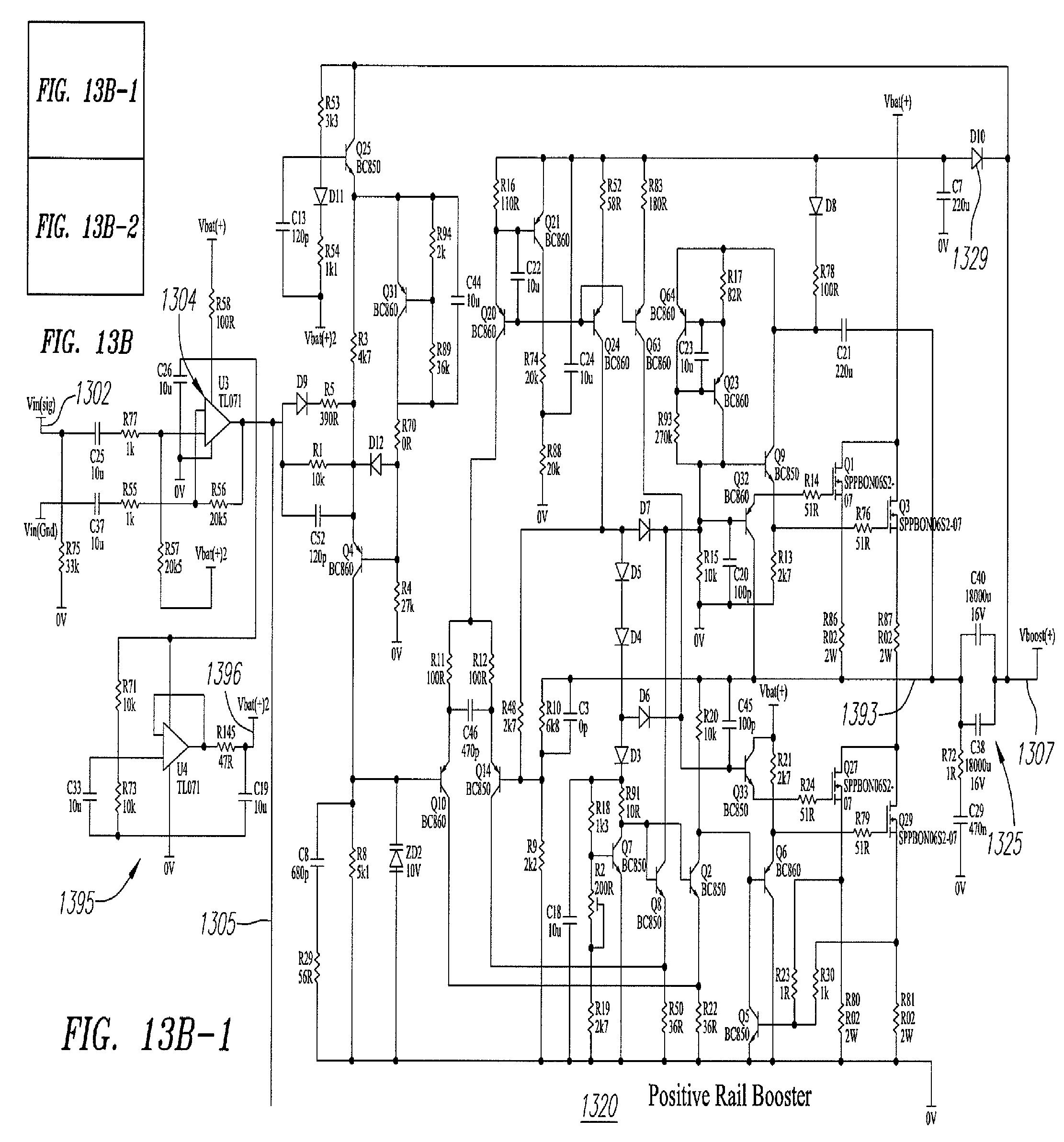 patent us7834702 - efficient power amplifier