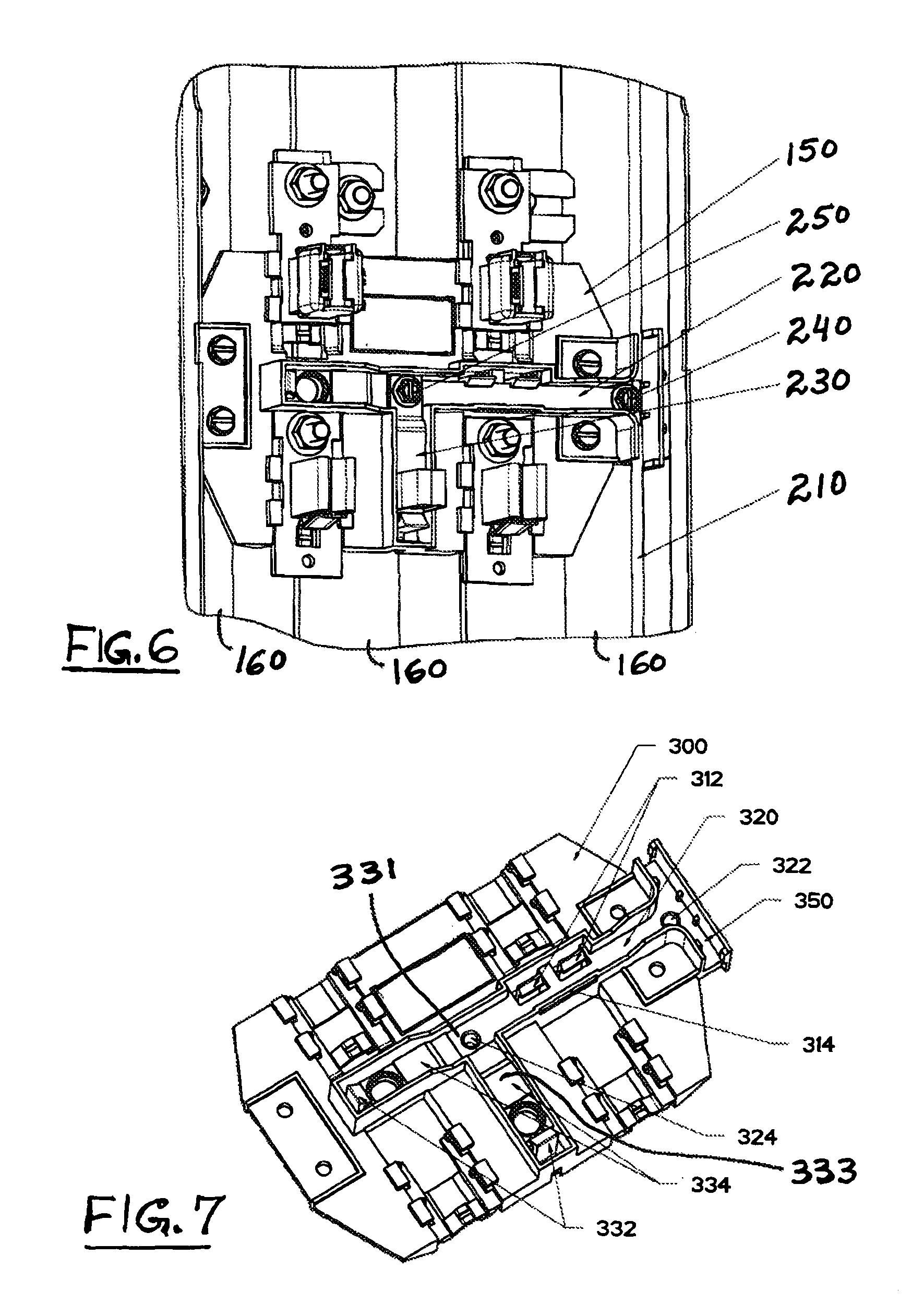 Patent Us7837498 Wire Distributed 5th Jaw System For