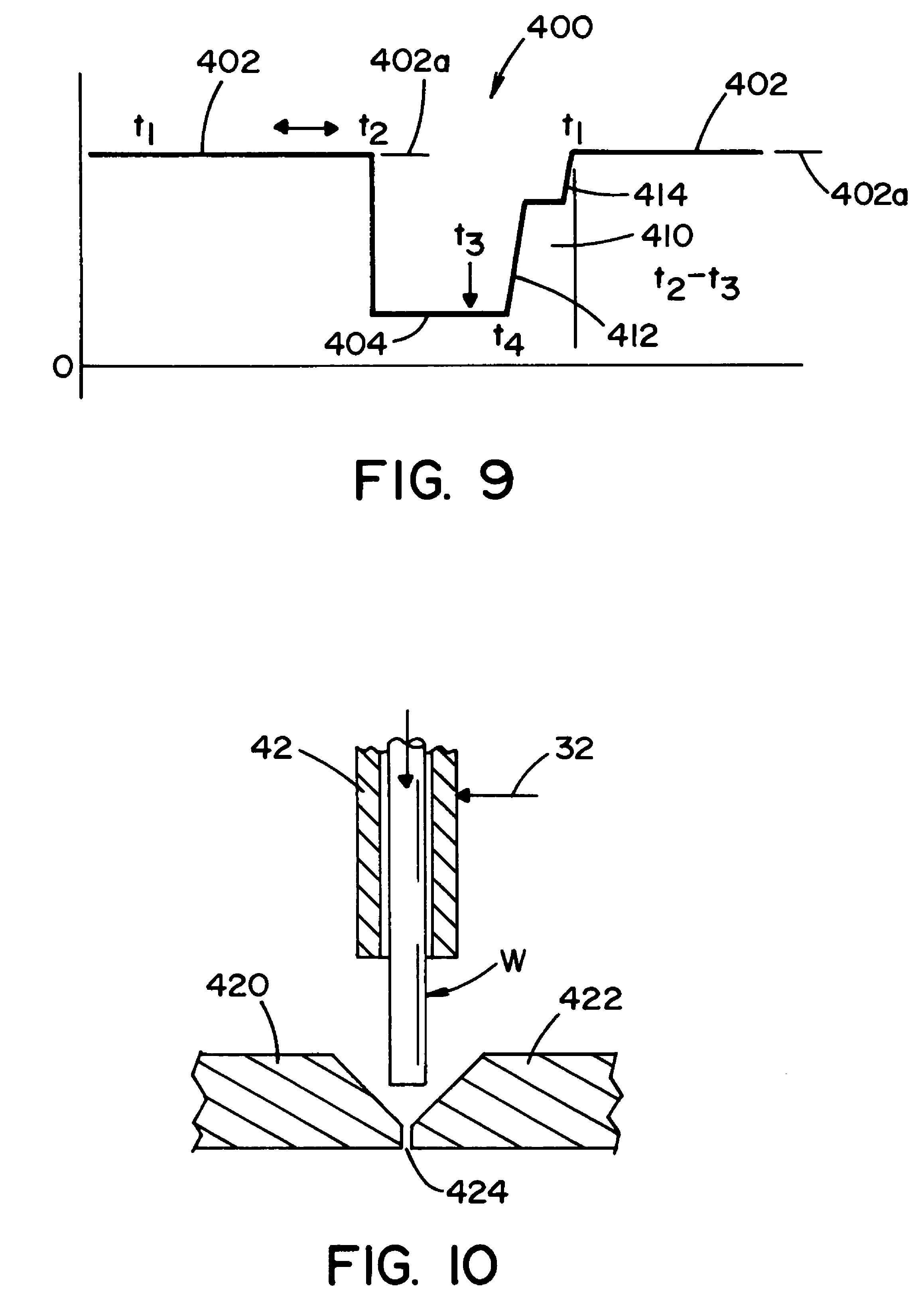 patent us7842903 - short arc welding system