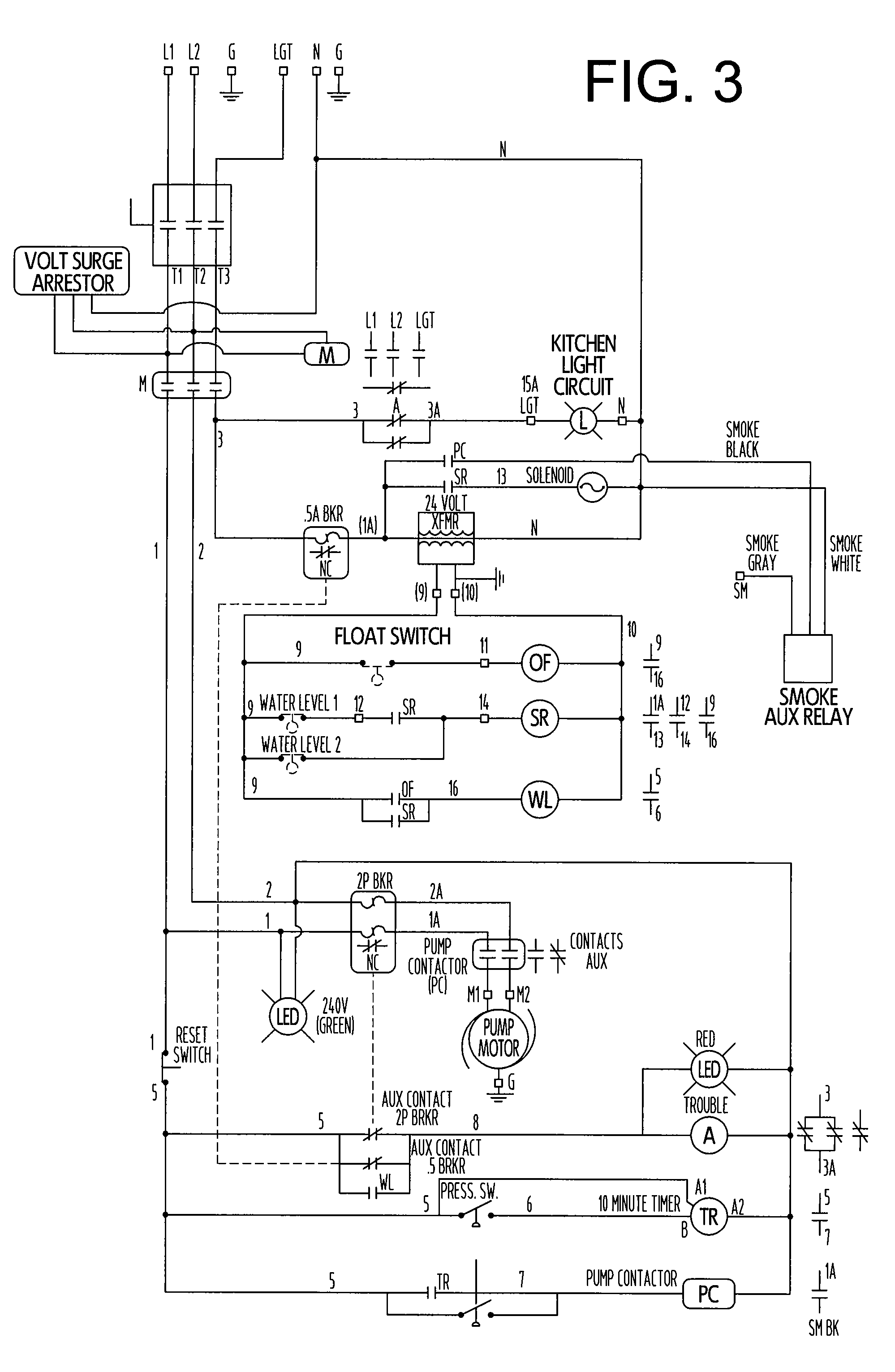 Wiring Diagram Jockey Pump : Patent us packaged residential fire sprinkler