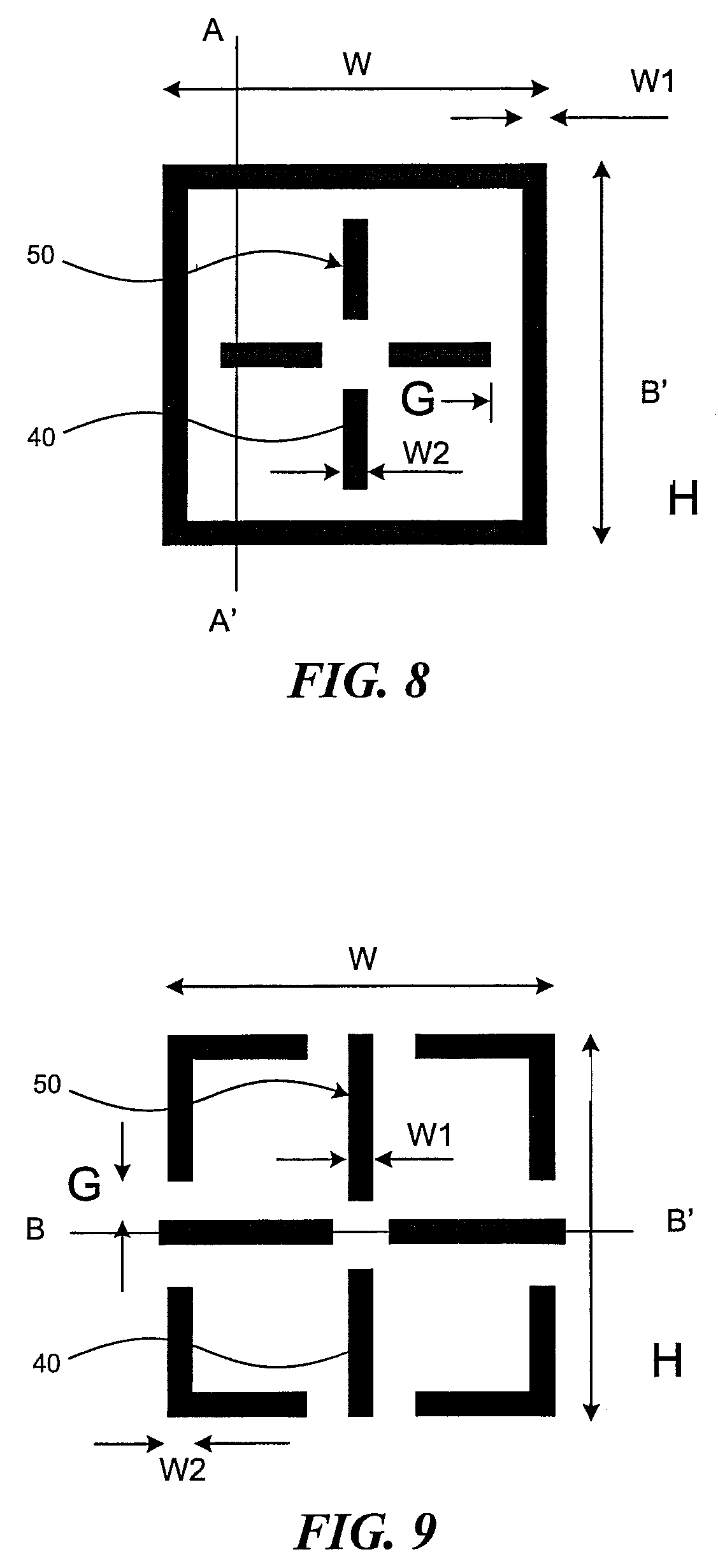 patent us7847939 - overlay measurement target