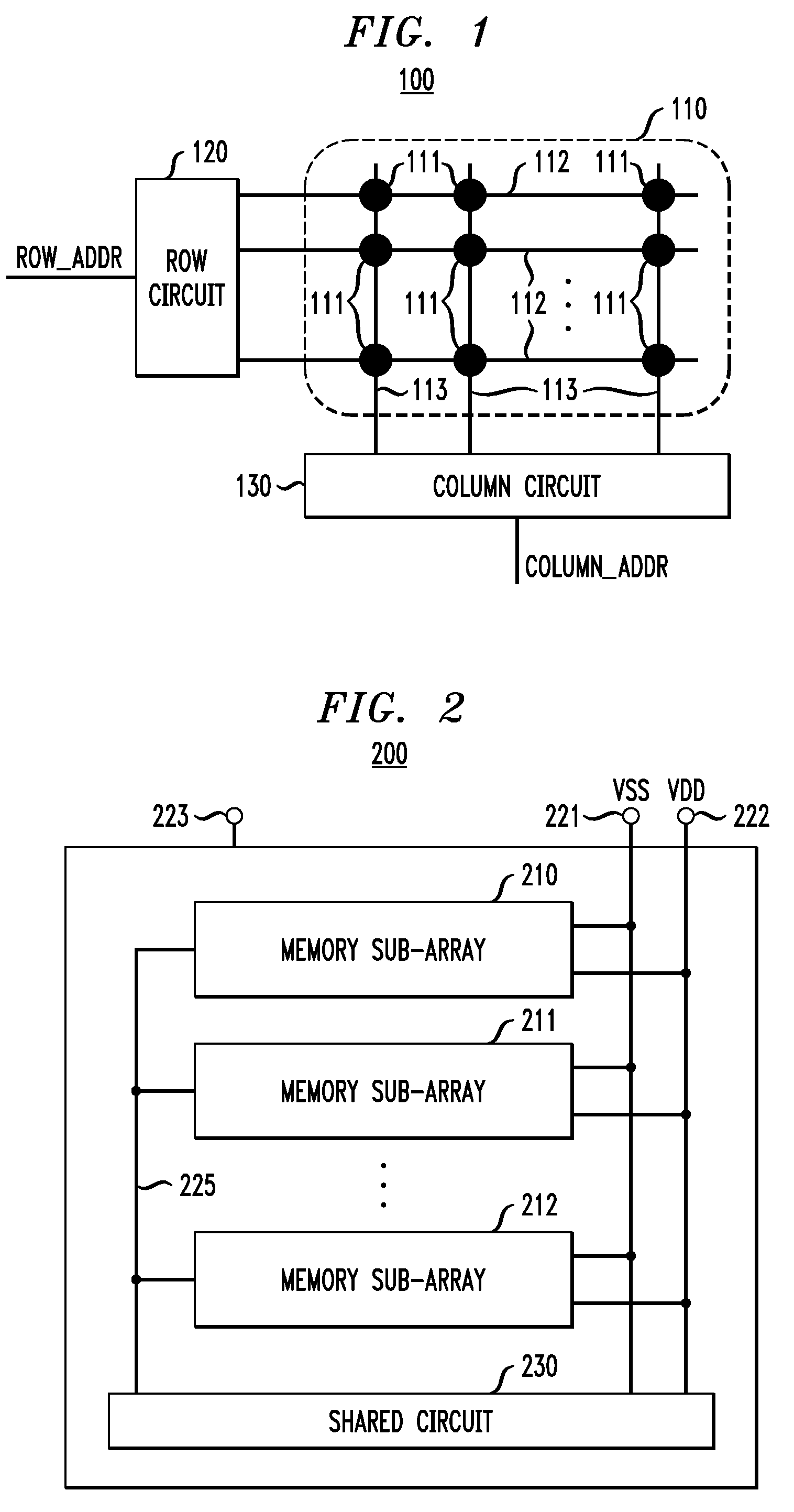 patent us7848172 - memory circuit having reduced power consumption