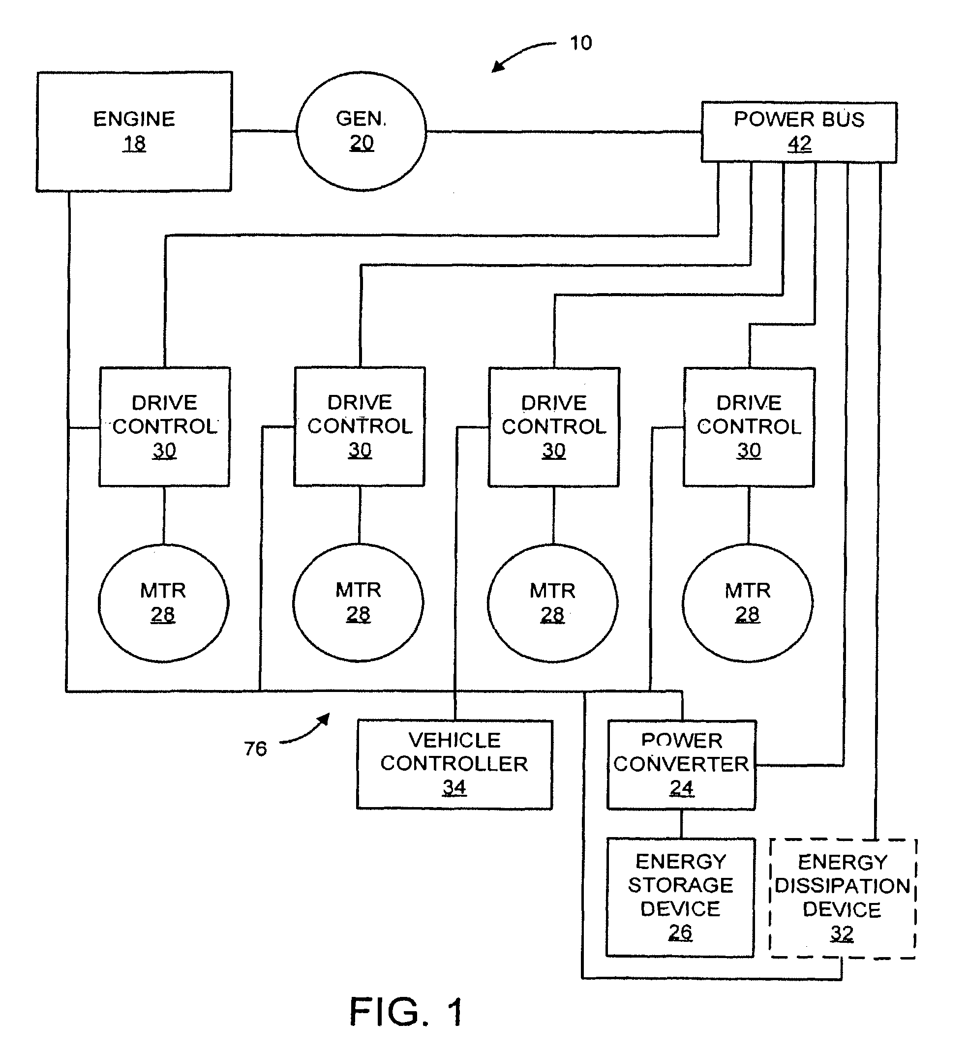 patent us7848857 system and method for braking in an electric vehicle patents