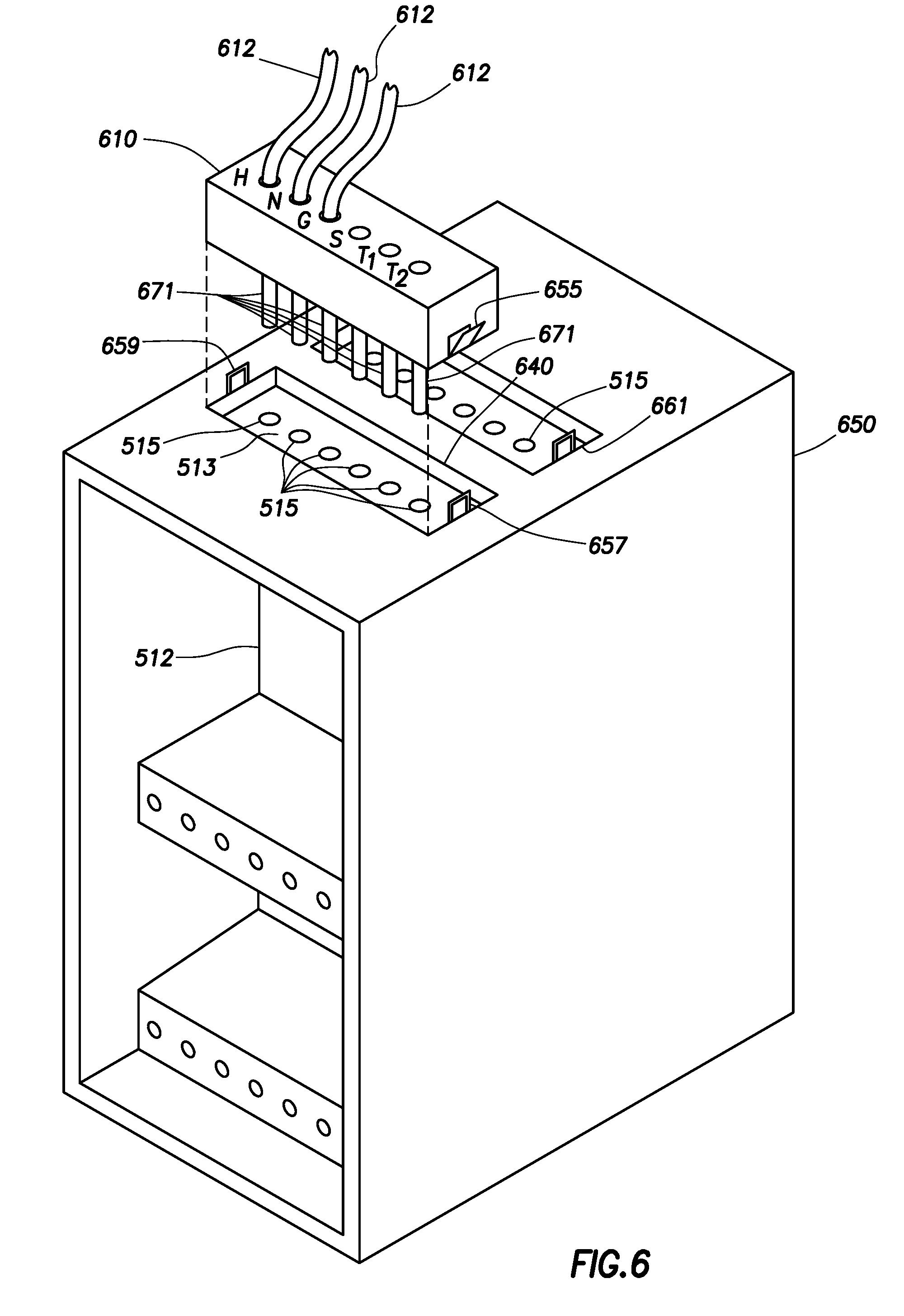 patent us7851704 - modular wiring system