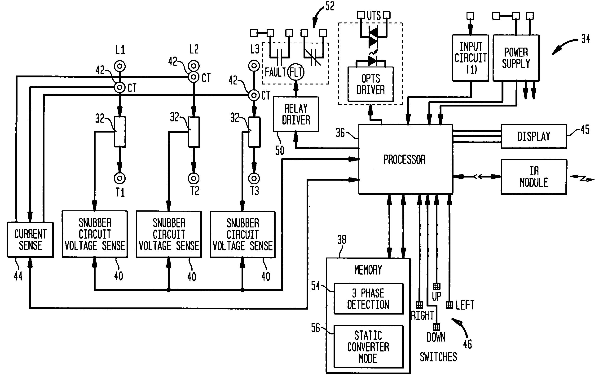 US07859217 20101228 D00000 patent us7859217 system and method for operating a soft starter eaton soft starter wiring diagram at virtualis.co