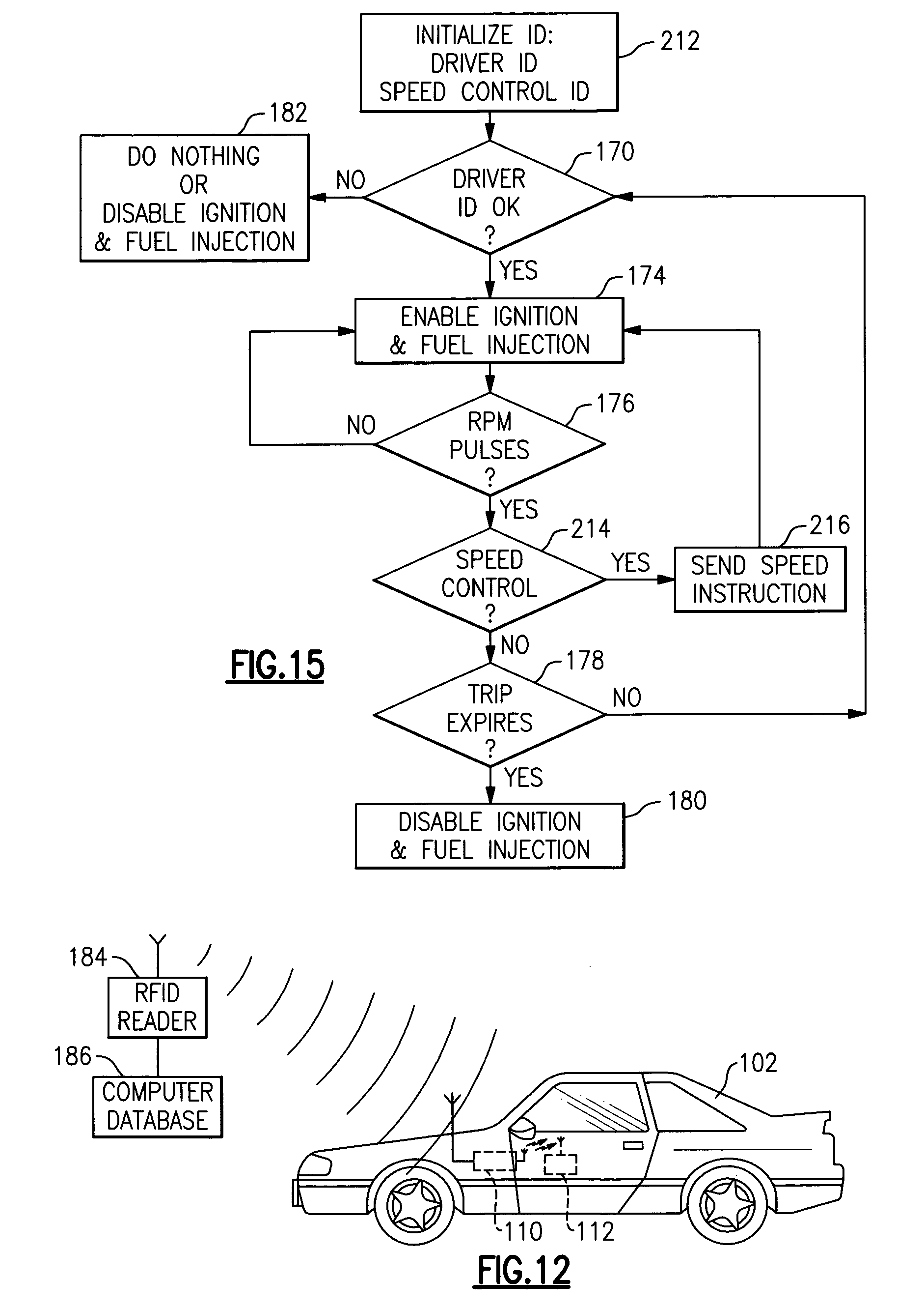 Patent Us7859413 Immobilizer Systems Including Digital Car Radio Price Rfid Wireless Relay Fuel Pump Circuit Cut Off Drawing