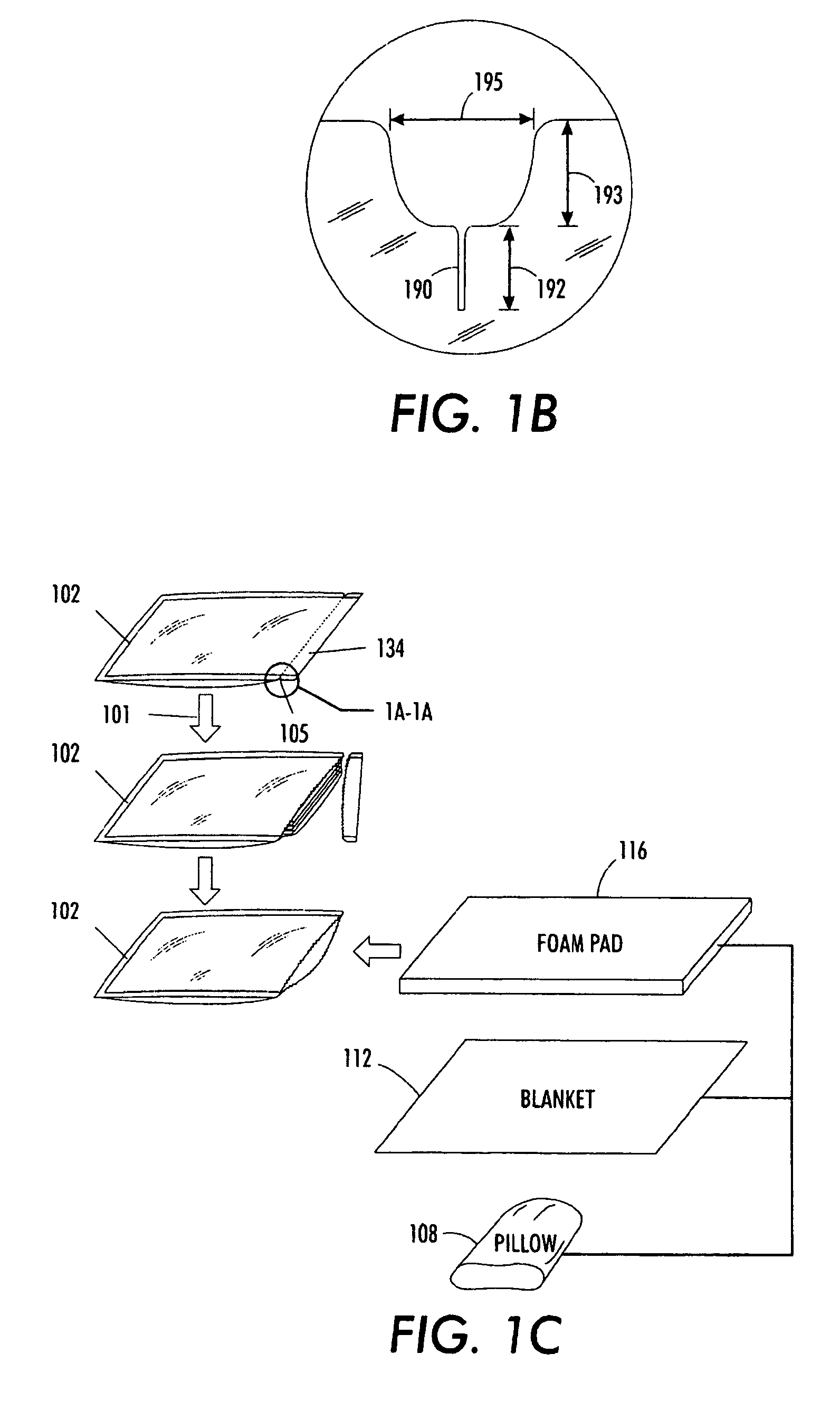 Sealable Mattress Bag Patent US7870960 - Disaster pack - Google Patents