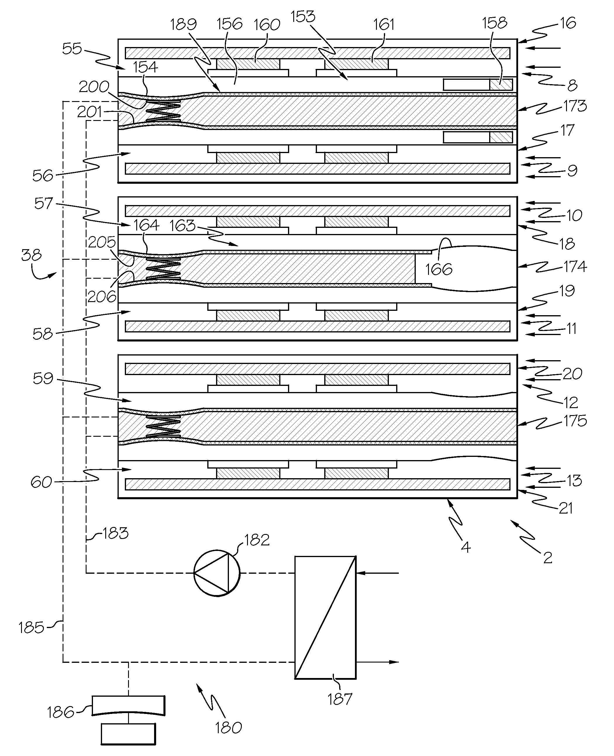 #3E3E3E Patent US7872867 Cooling System For An Electronic  Recommended 2667 Electronic Cooling System pics with 2100x2588 px on helpvideos.info - Air Conditioners, Air Coolers and more